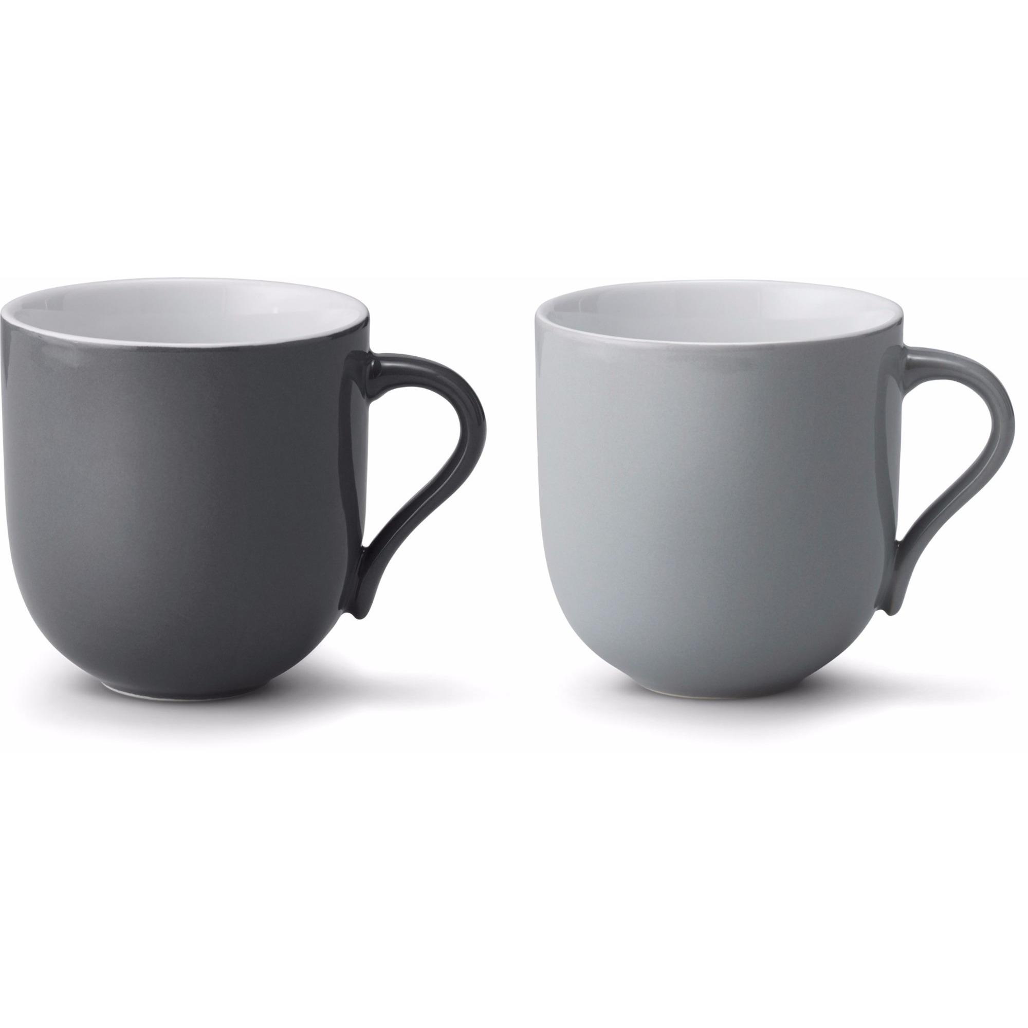 Stelton Emma mugg stor 2 st – grå