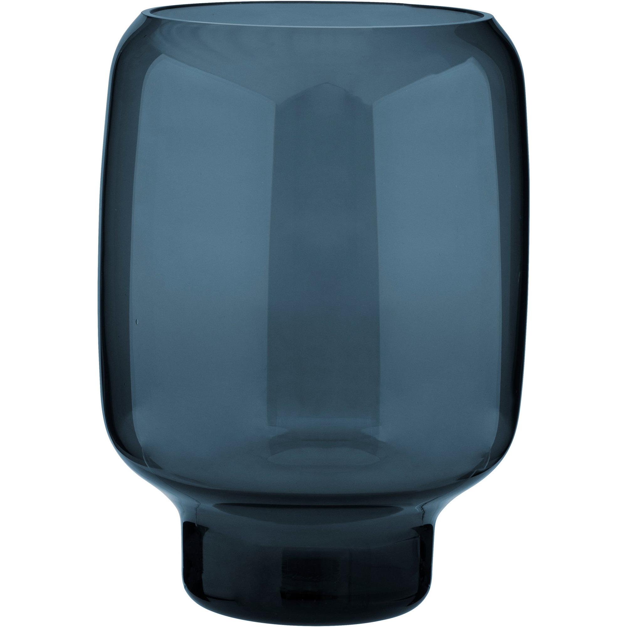 Stelton Hoop Vas 20 cm Glas Midnattsblå