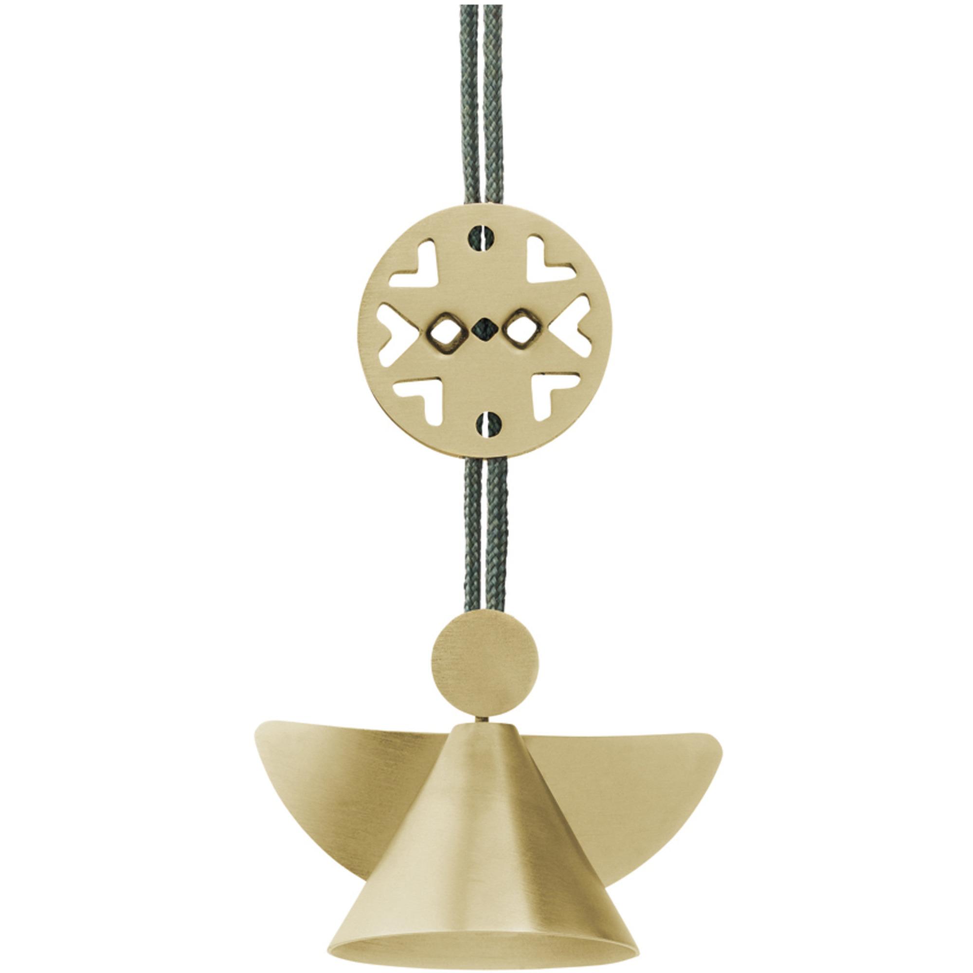 Stelton Nordic julornament ängel mini – mässing