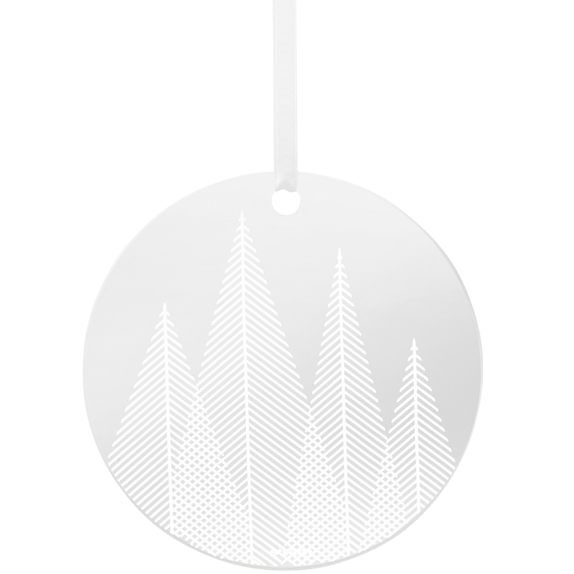 Stelton Nordic Winter Glasprydnad Pine – frosted