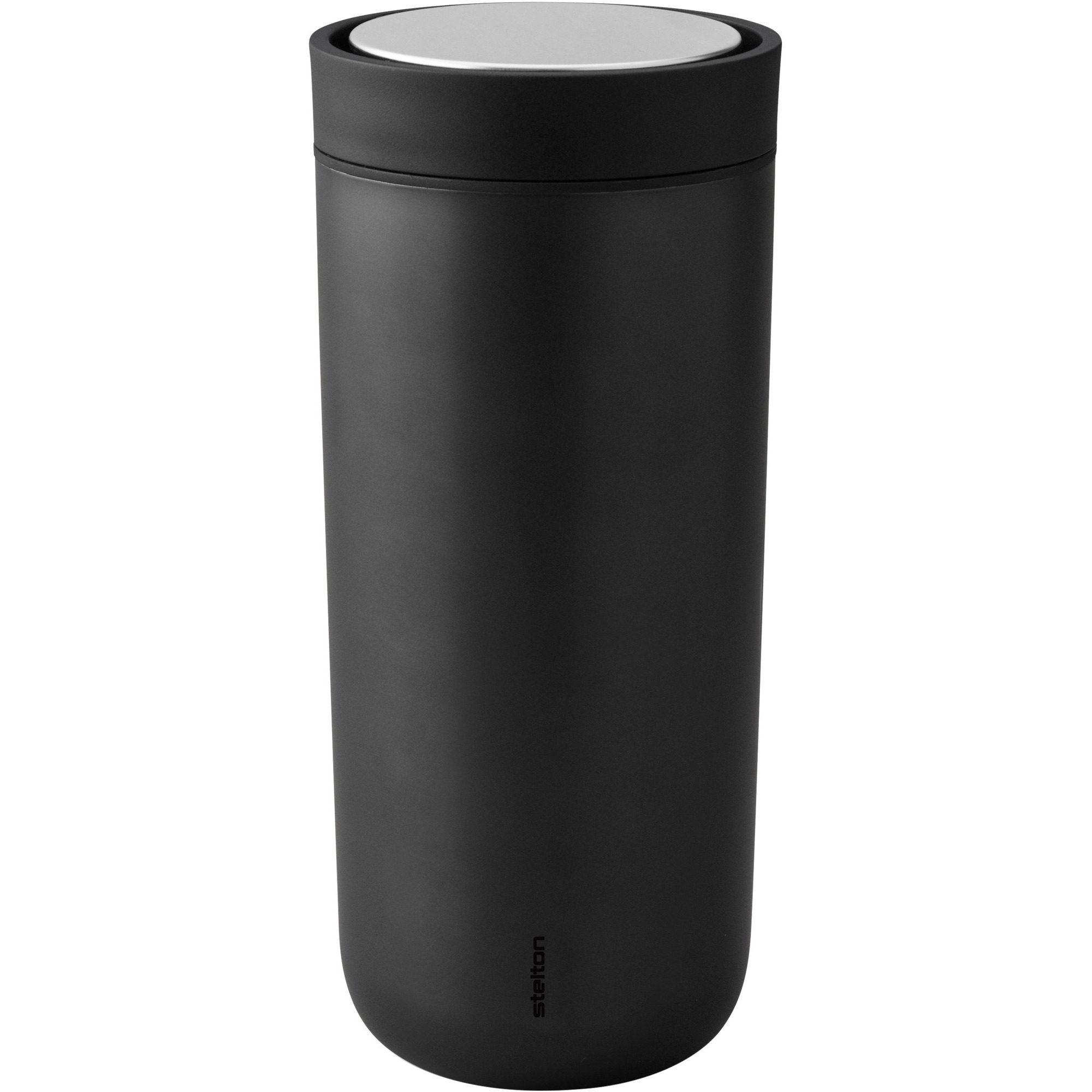 Stelton To Go Click d. steel 048 l. – black metallic