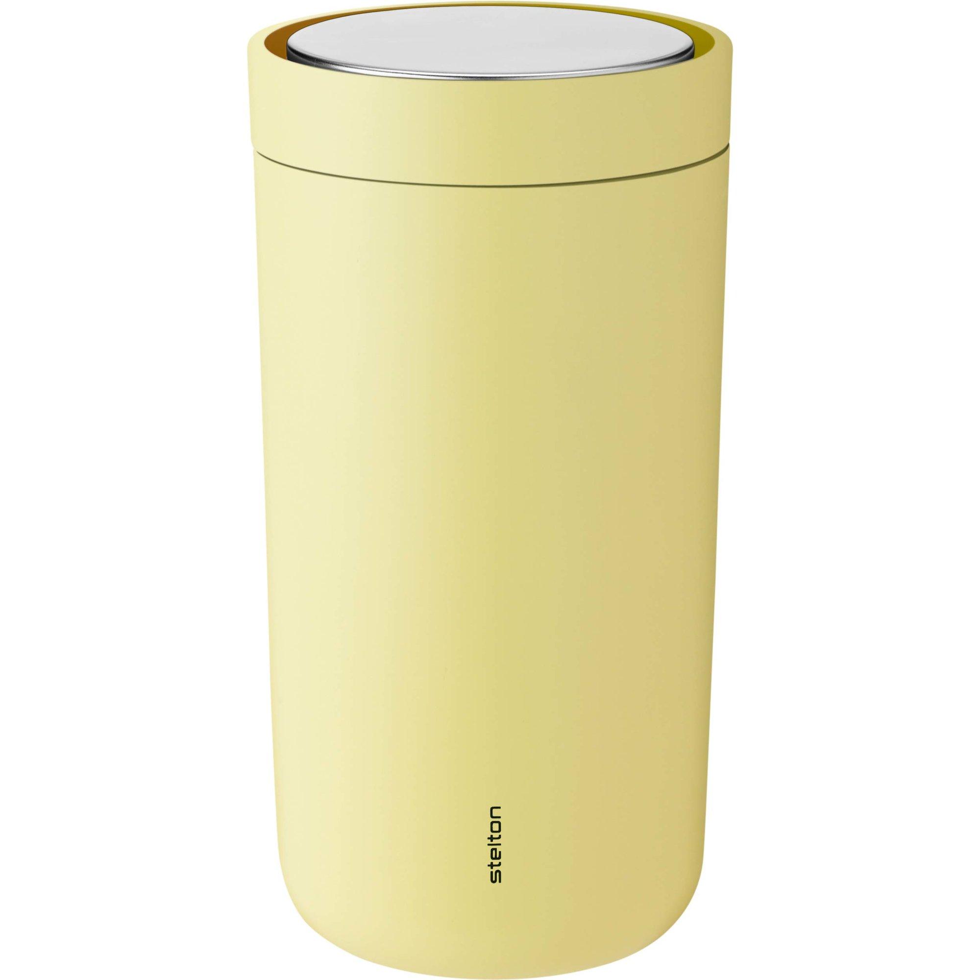 Stelton To Go Click termoskopp 02 liter gul