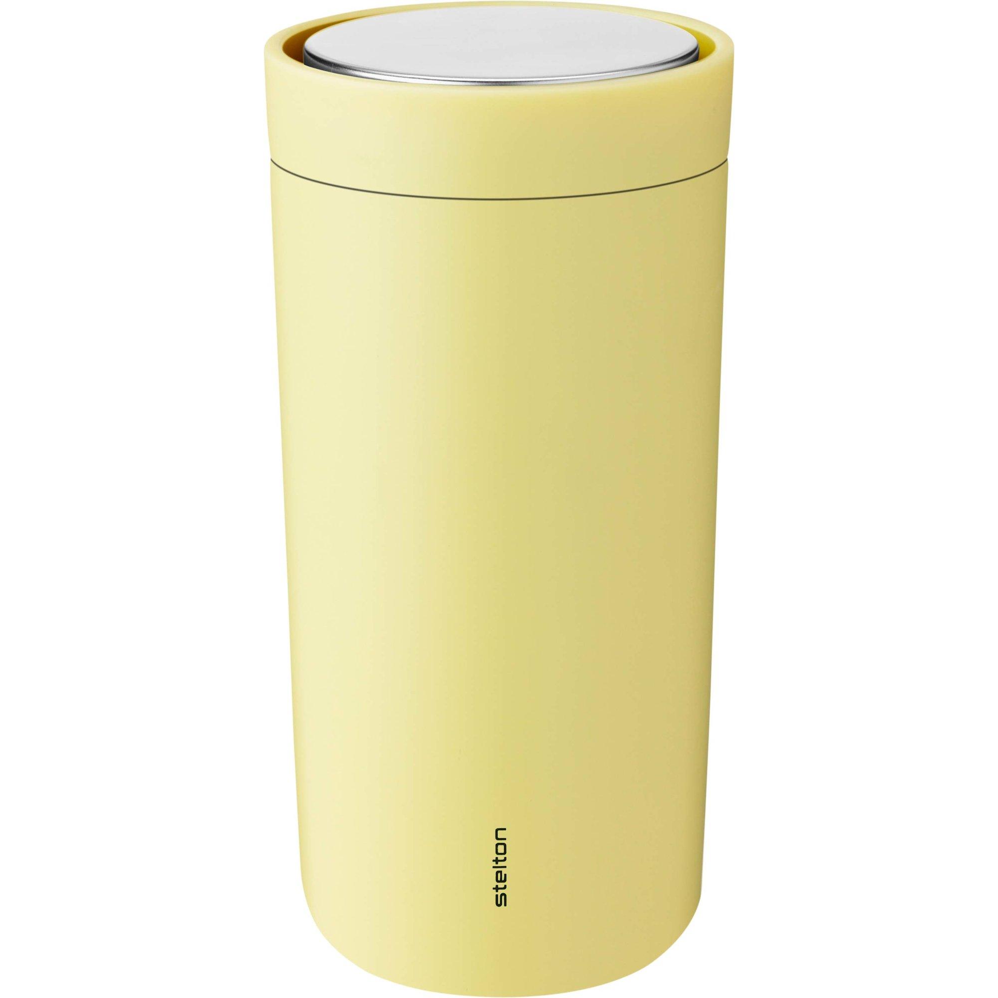 Stelton To Go Click termoskopp 04 liter gul