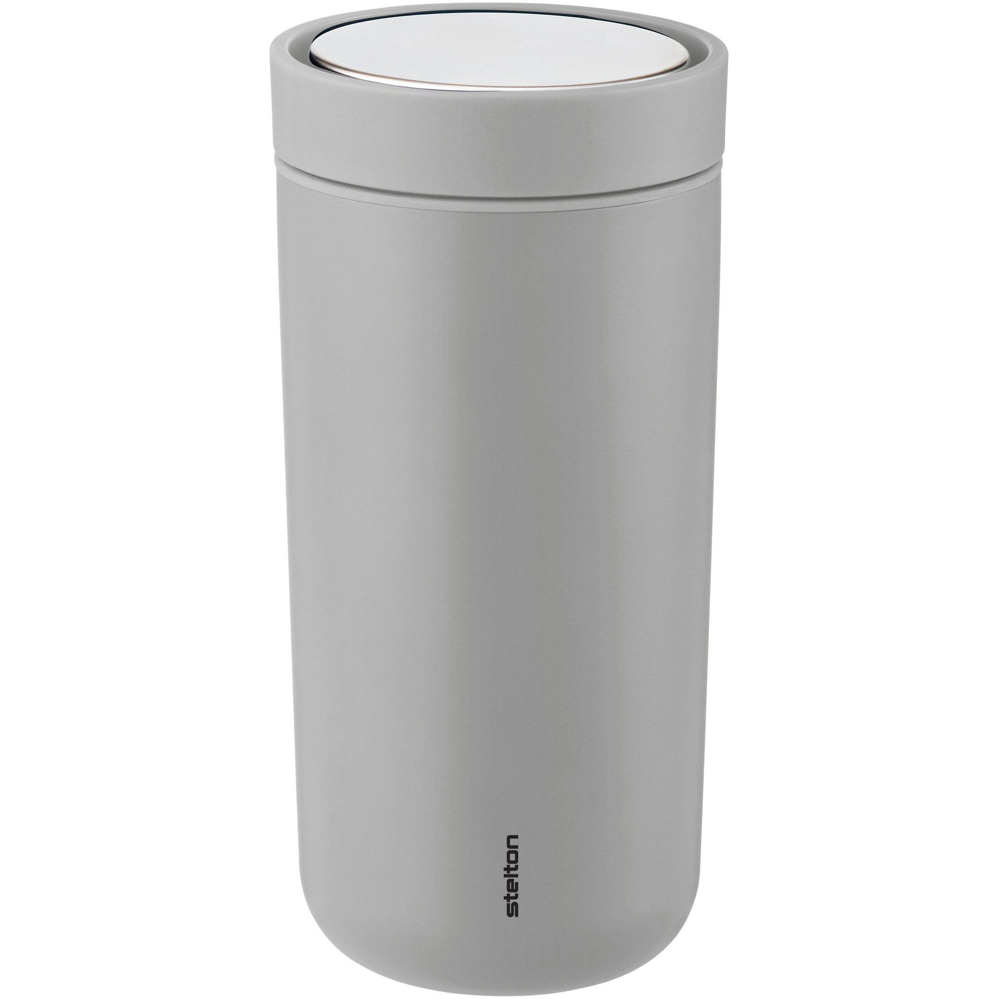 Stelton To Go Click d. steel 0,4 l. - soft light grey