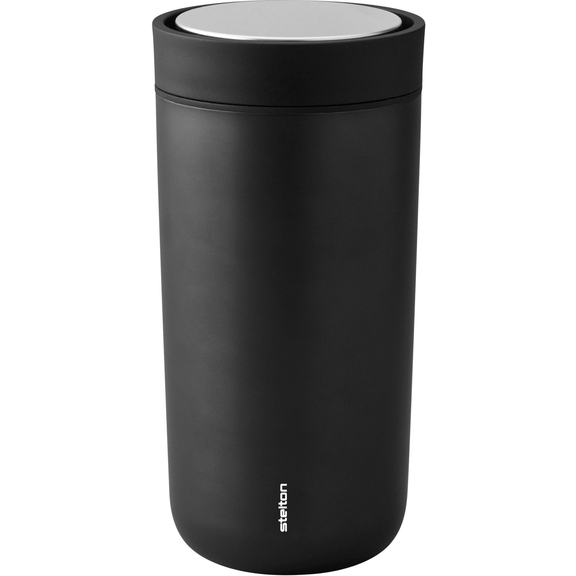 Stelton To Go Click d. steel 04 l. – black metallic