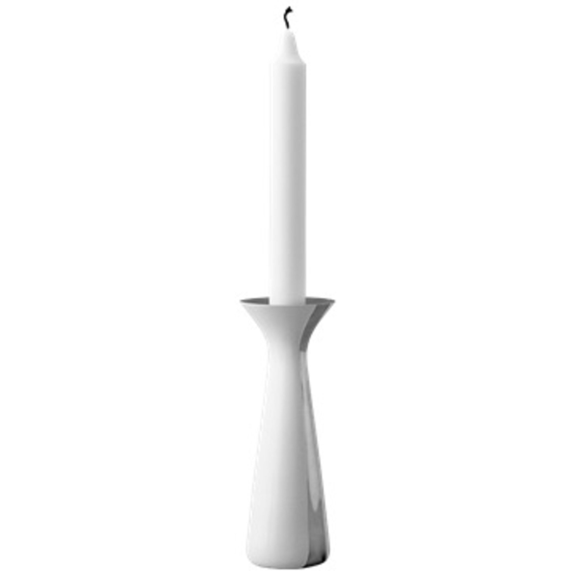 Stelton Unified Ljusstake 17 cm Liten Vit
