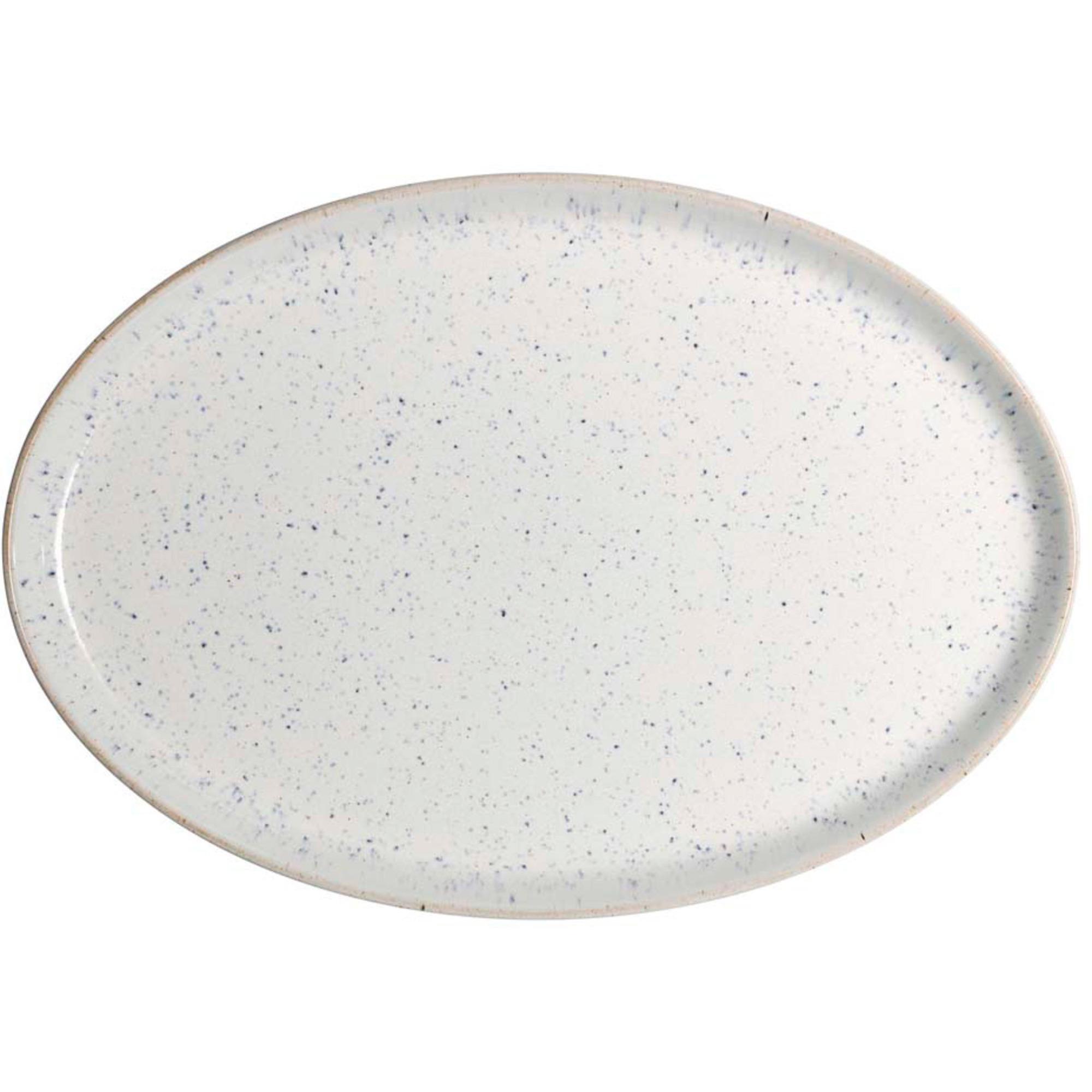 Denby Studio Blue Chalk Medium Oval Tallrik 27 cm