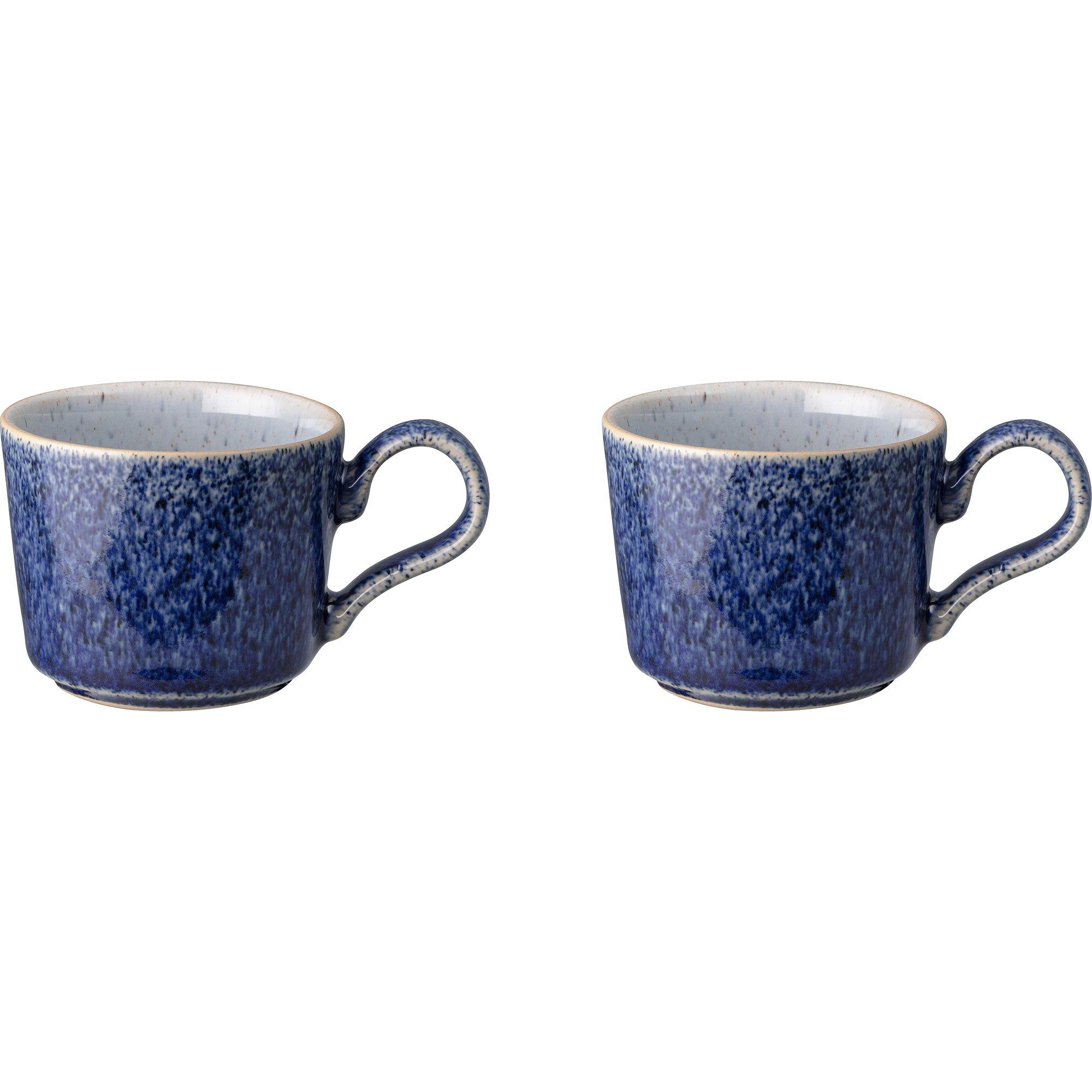 Denby Studio Blue Espressokopp 2-pack