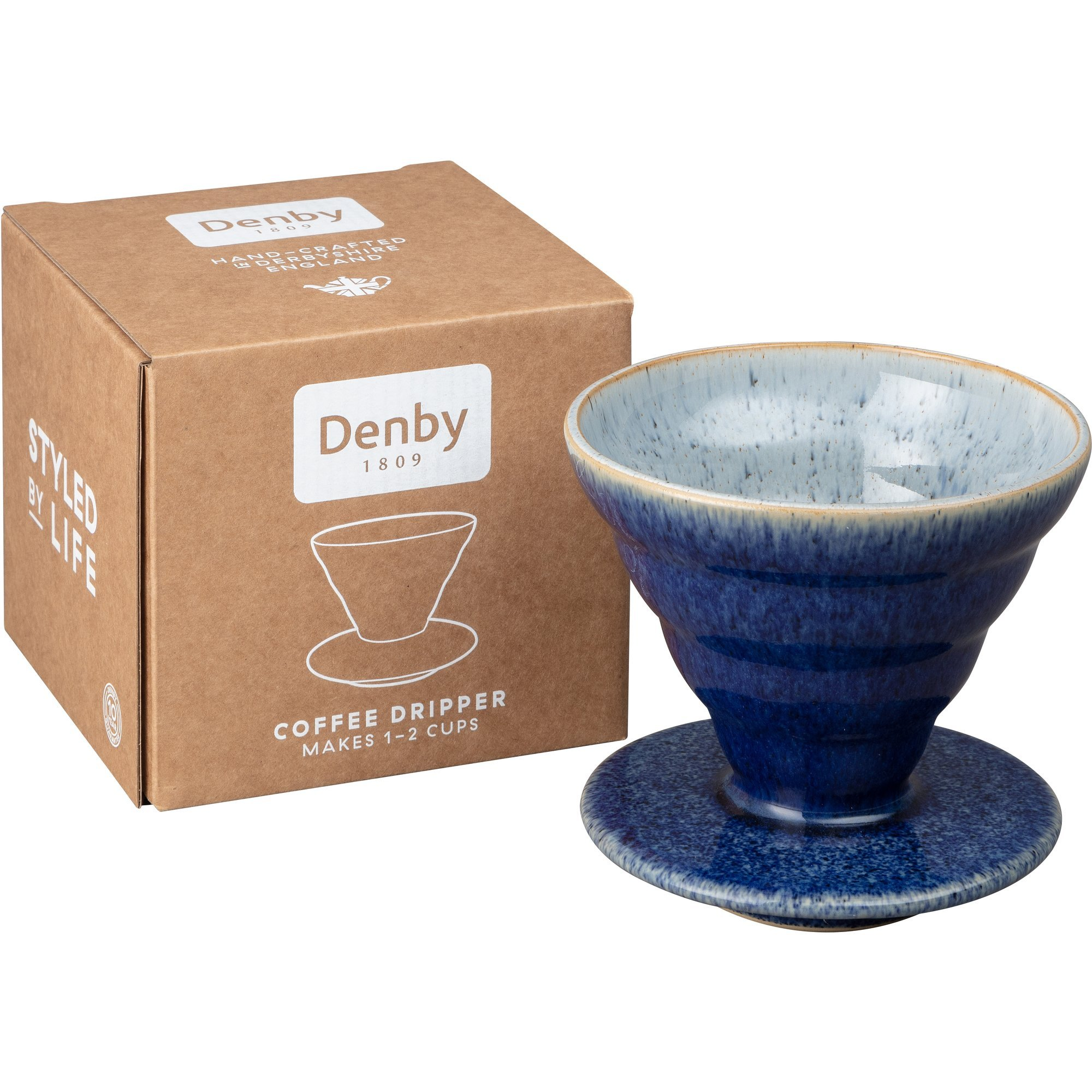 Denby Studio Grey Droppkaffebryggare