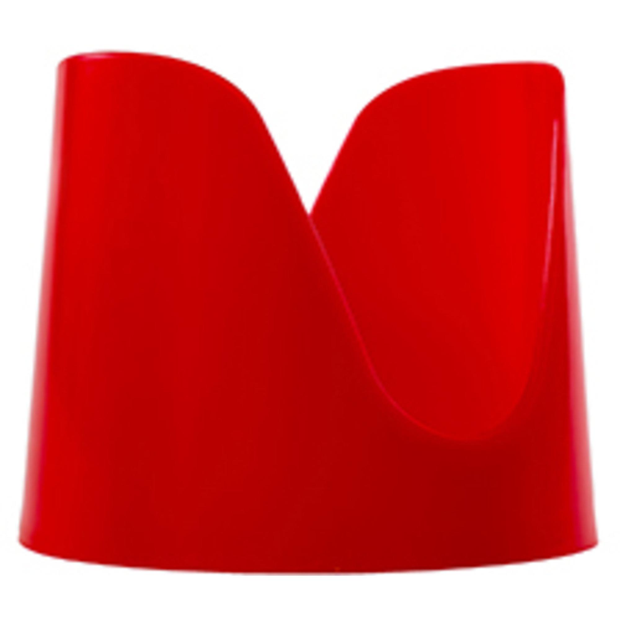 Dalolinden Tacohållare hård skal 4-pack Röd plast