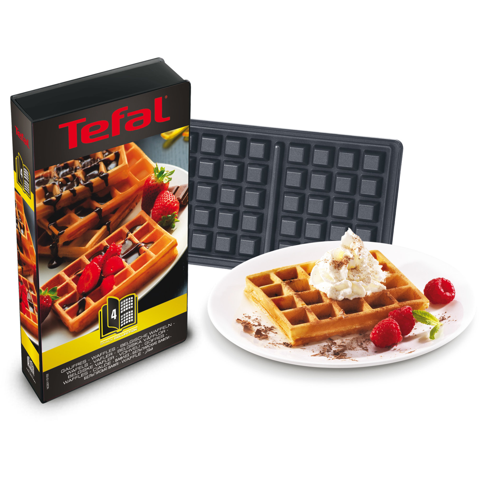 Snack collection multijern fra tefal gratis levering - Gaufrier tefal snack collection ...