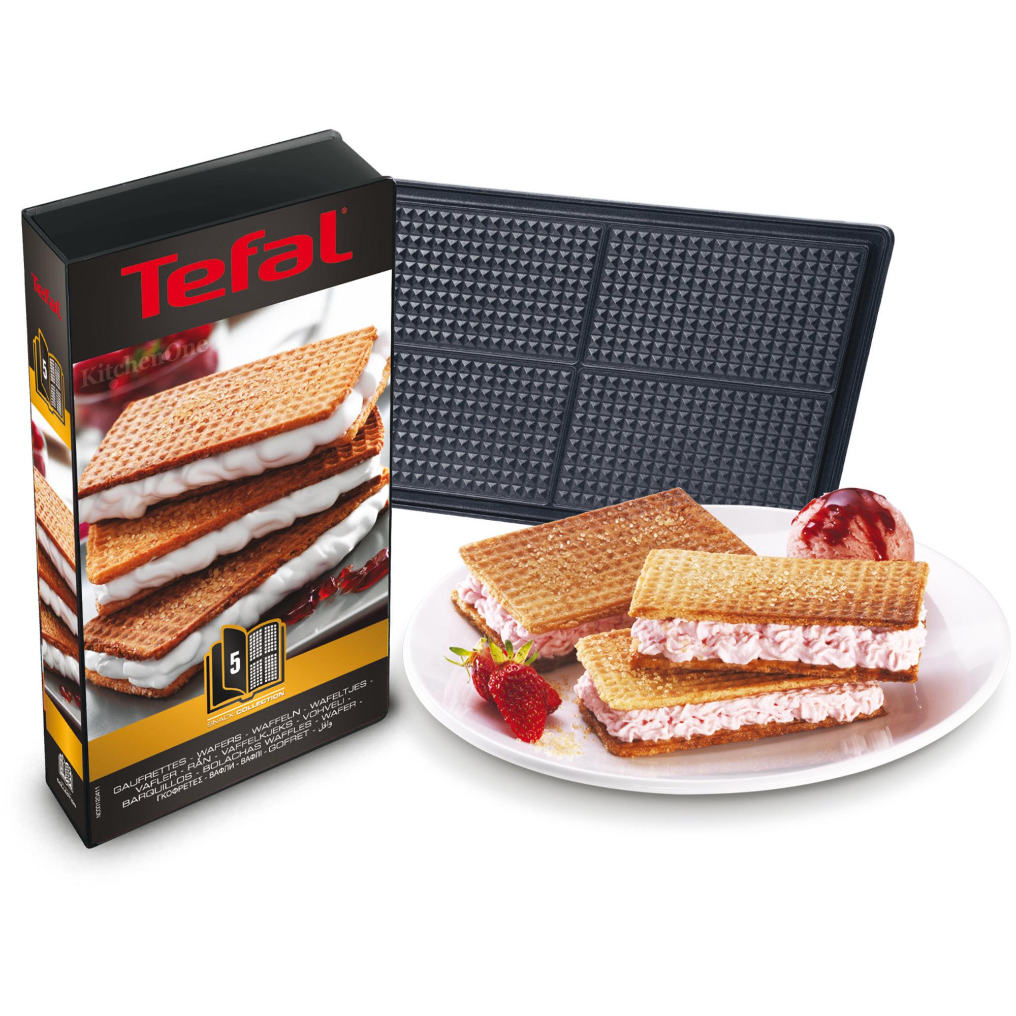 Utroligt Bestil Snack Collection plader: Vafler (5) fra Tefal DK55