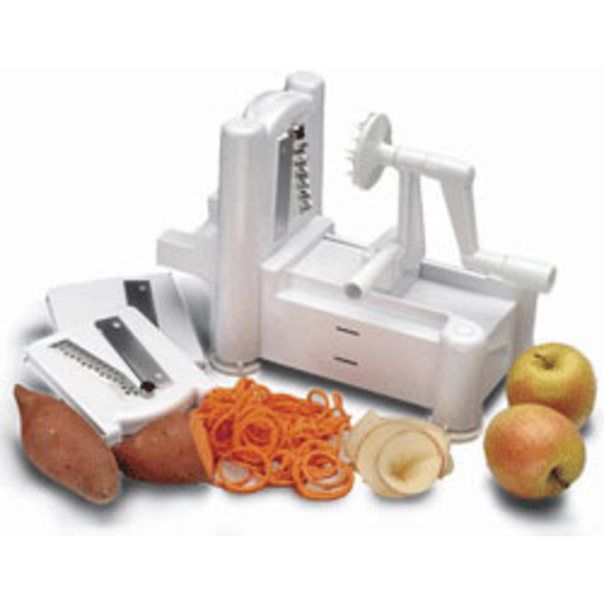 Tellier Frukt- & Grönsakssvarv 3i1 Hushållsmodell