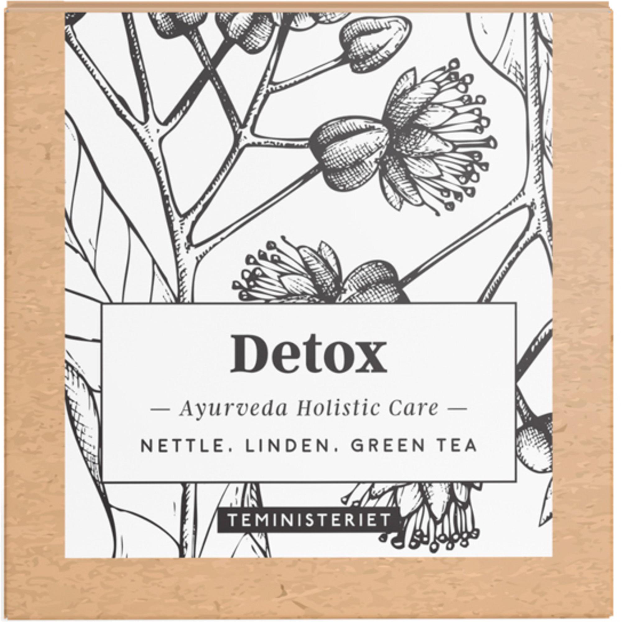 Teministeriet Ayurveda Detox tepåsar 50 g.