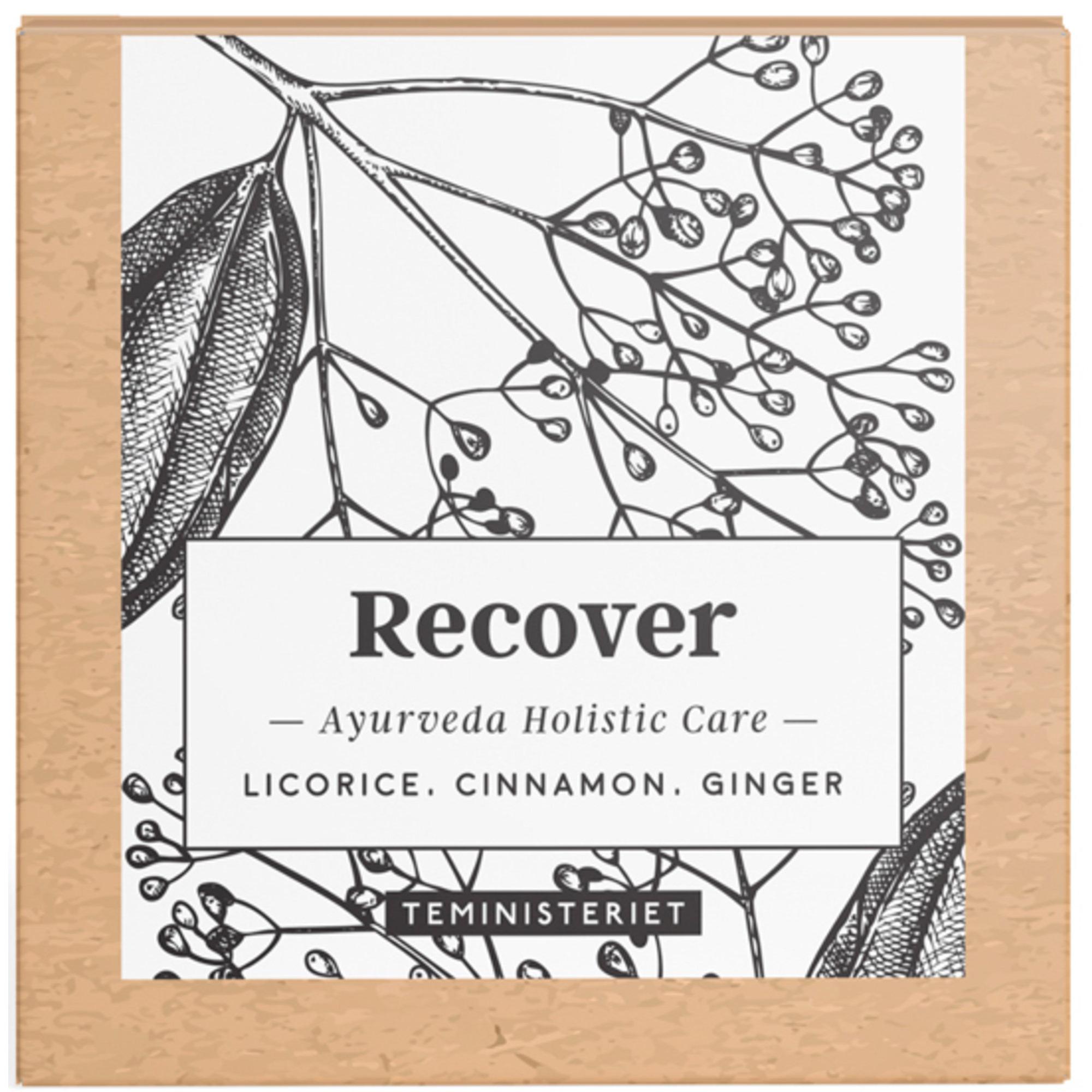 Teministeriet Ayurveda Recover tepåsar, 100 g.