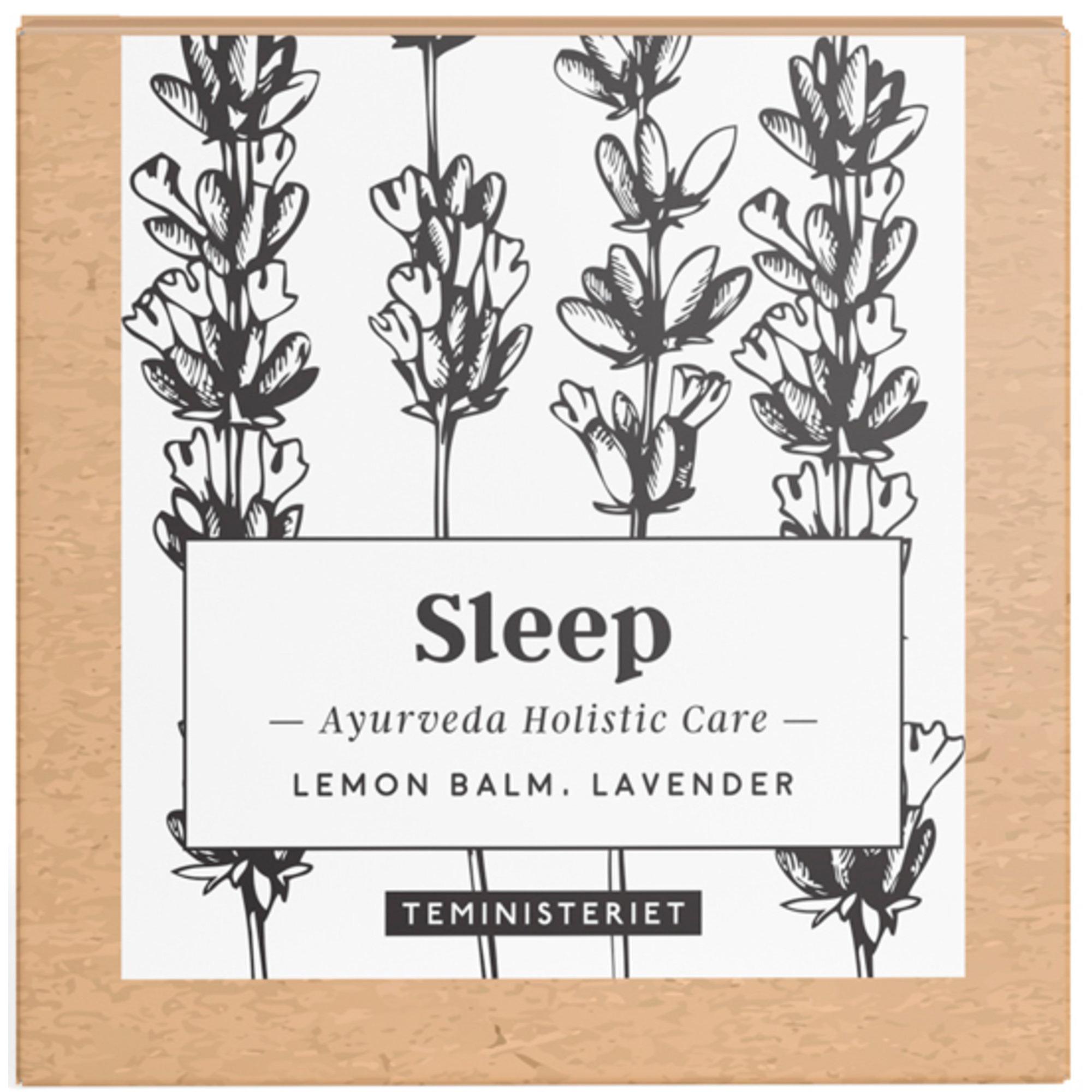 Teministeriet Ayurveda Sleep tepåsar 50 g.