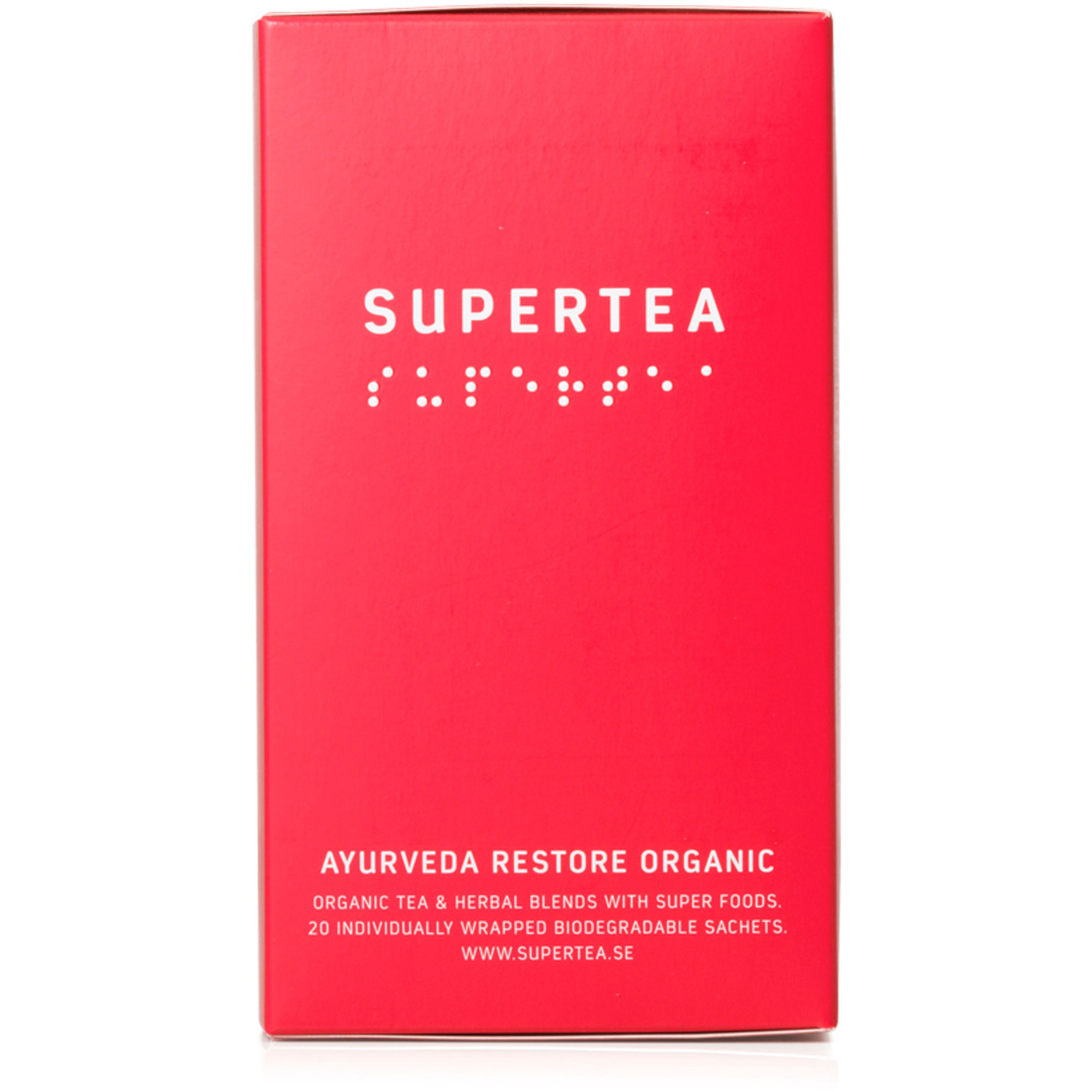 Teministeriet Supertea Ayurveda Restore Organic te