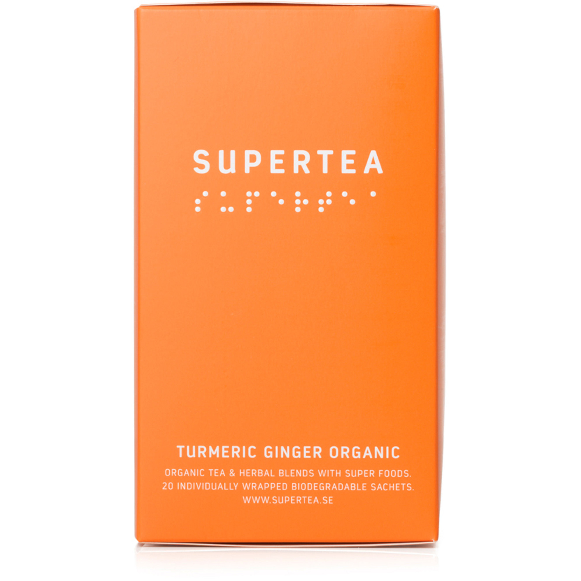Teministeriet Supertea Turmeric Ginger Organic te
