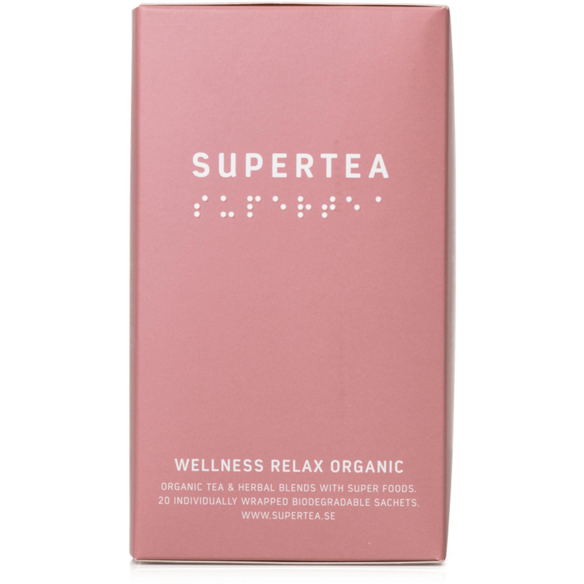 Teministeriet Supertea Wellness Relax Organic te