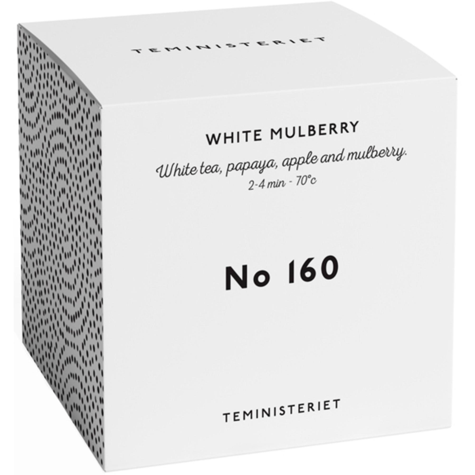 Teministeriet White Mulberry tepåsar 50 g.