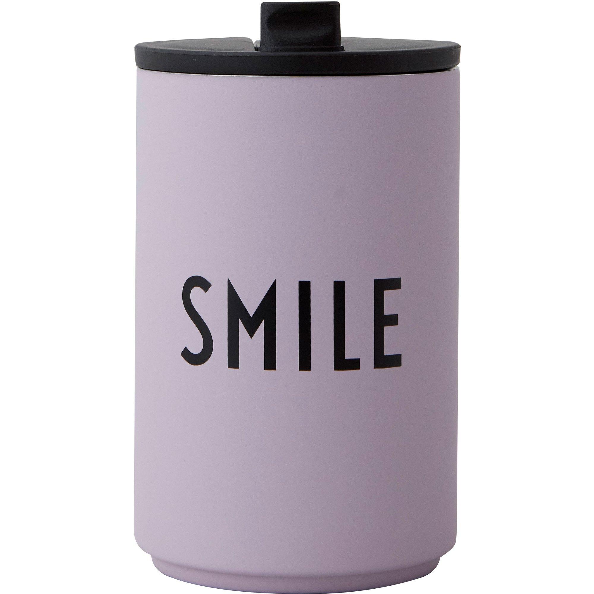 Design Letters Termosmugg lavender