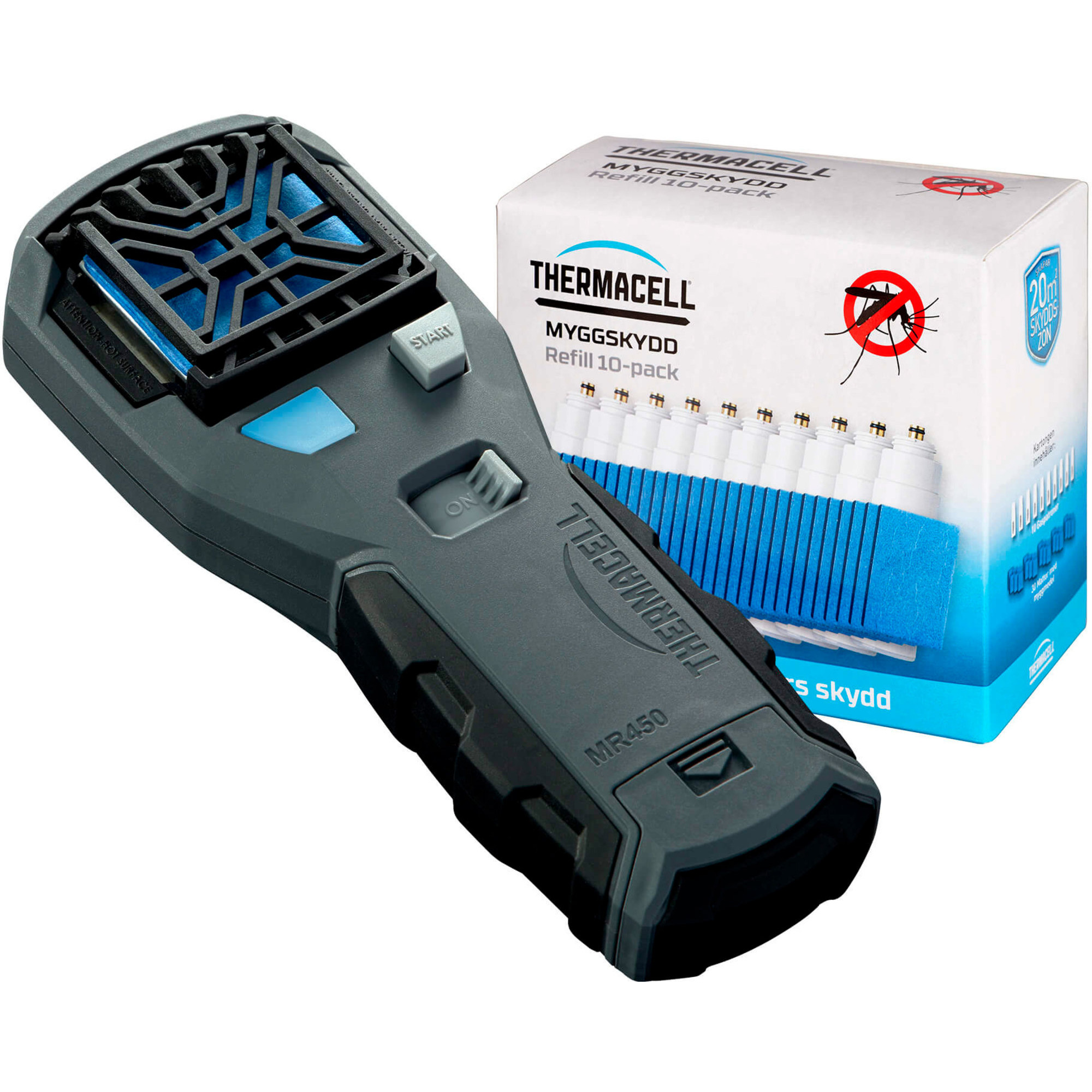 Thermacell MR450 Myggskydd + Refill-kit 10-pack