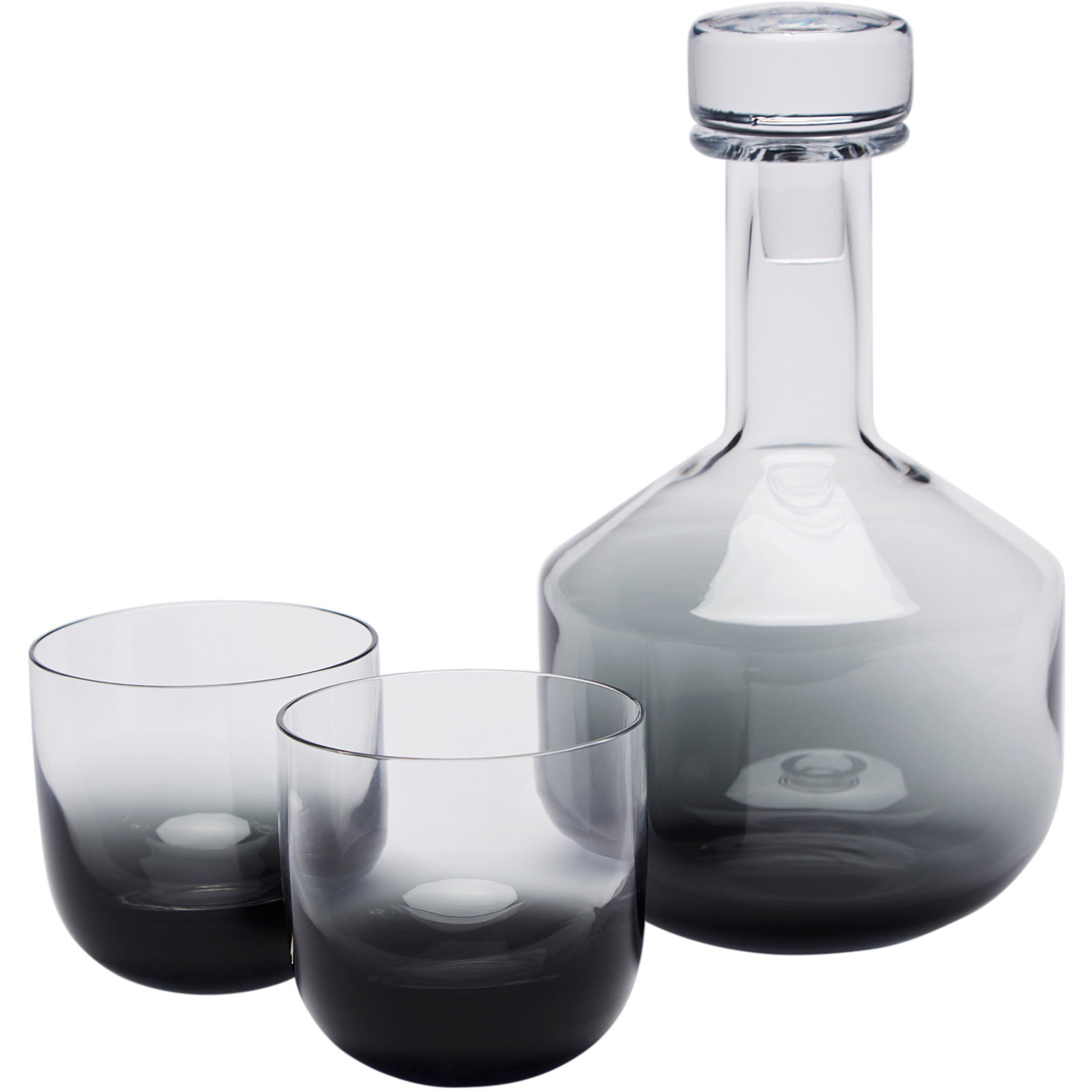 Tom Dixon Tank Whisky Set Svart