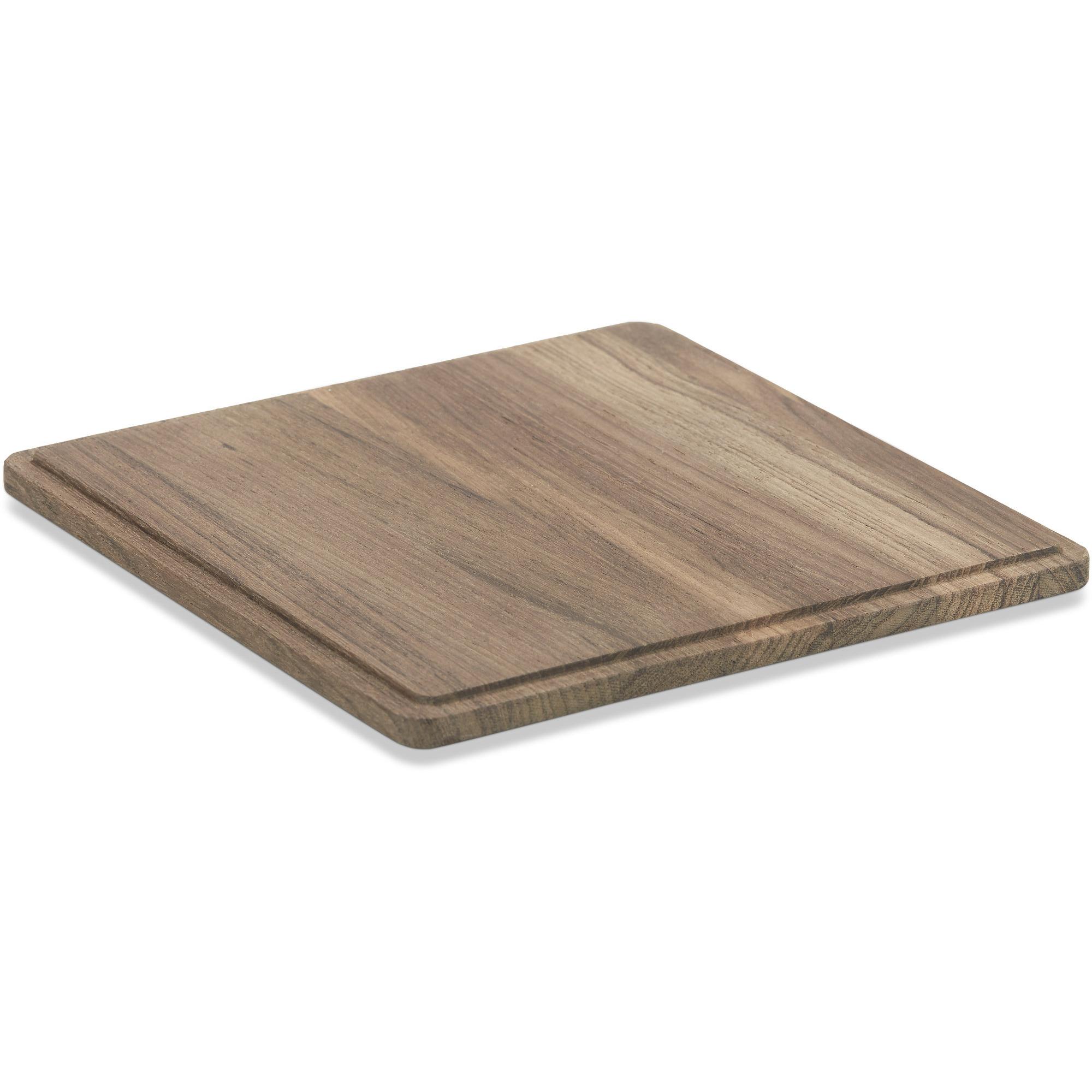 Skagerak Plank Planksteksskärbräda Kvadratisk Teak