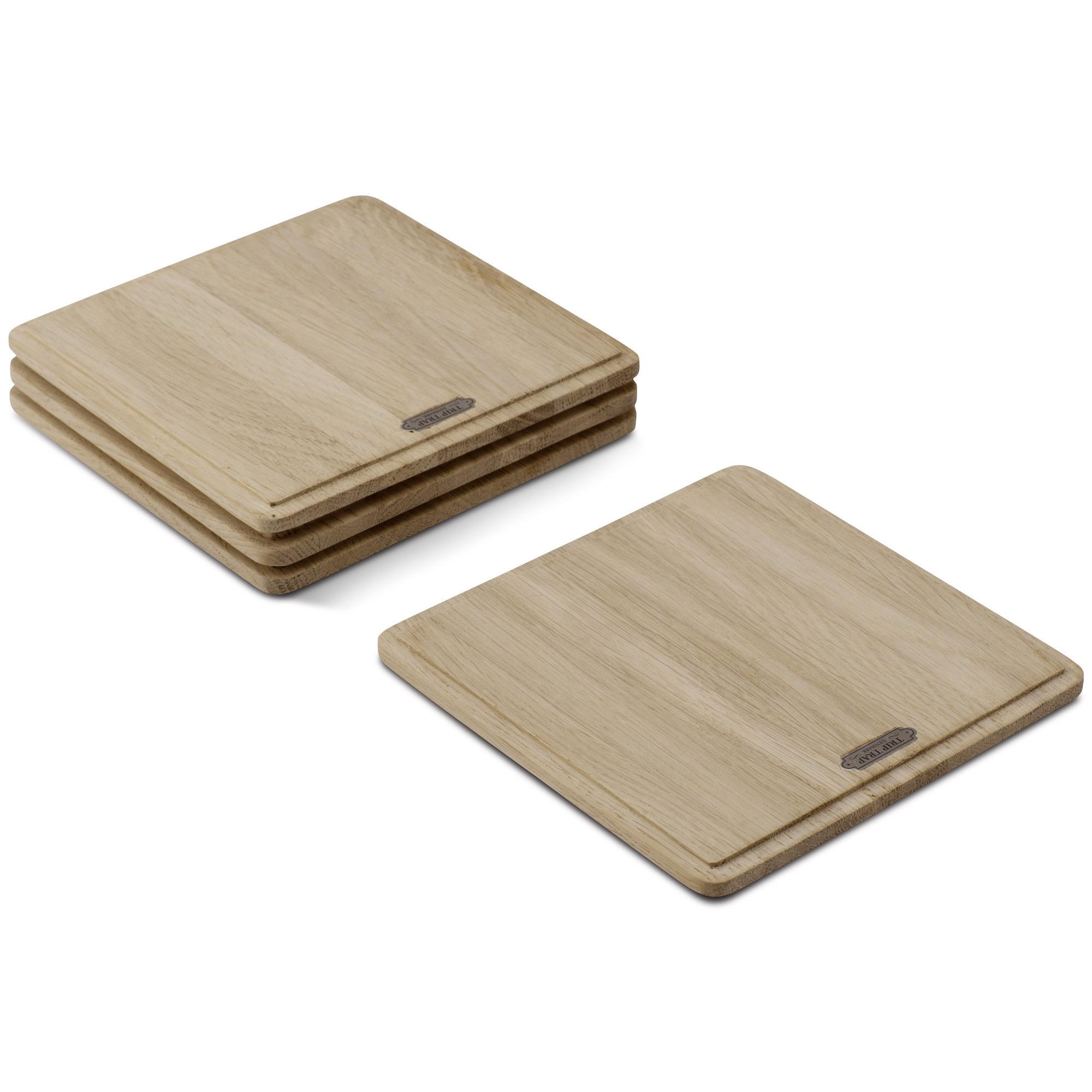 Skagerak Plank Planksteksskärbräda Kvadratisk Ek