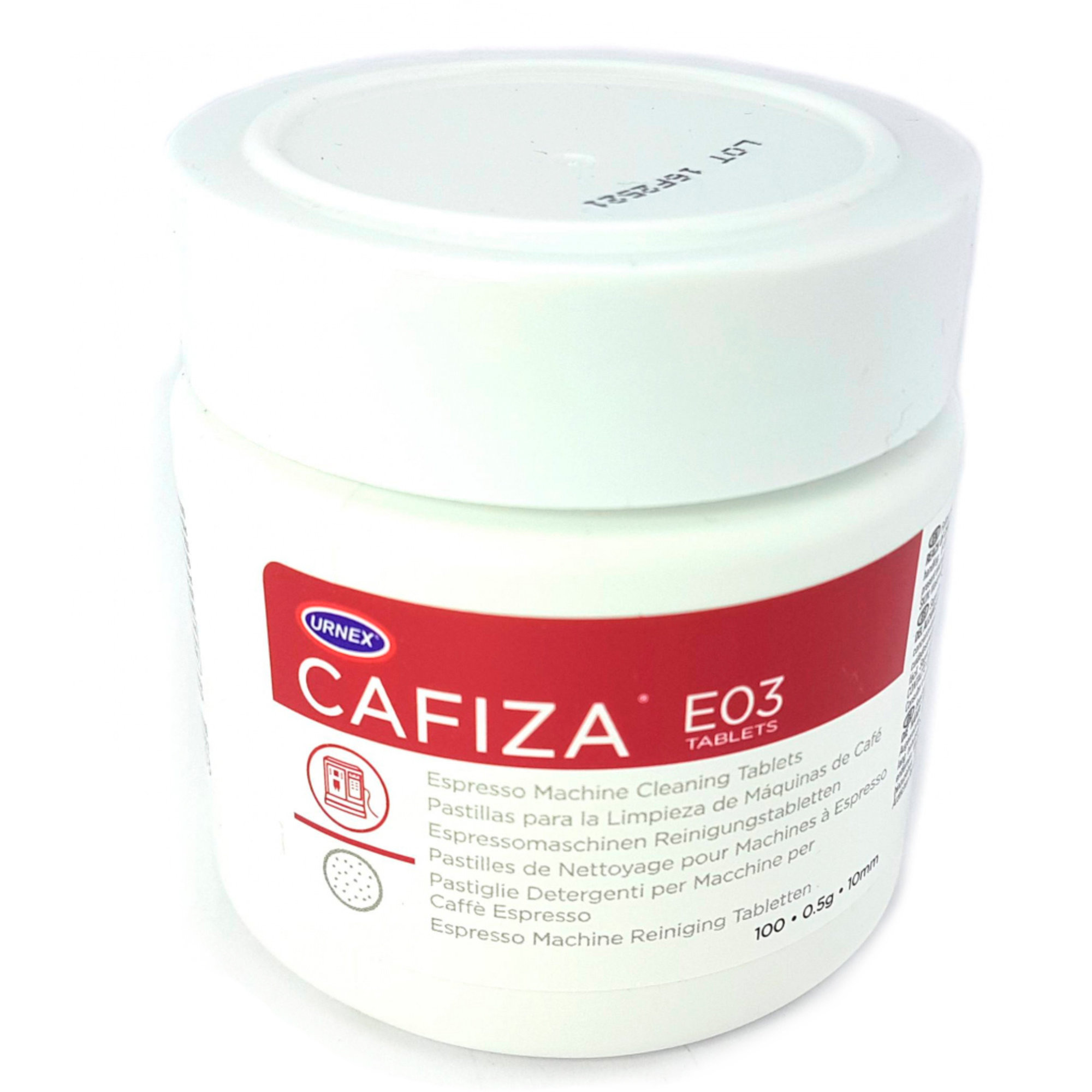 Urnex Cafiza E03 Espresso Rengöringstabletter 05 g