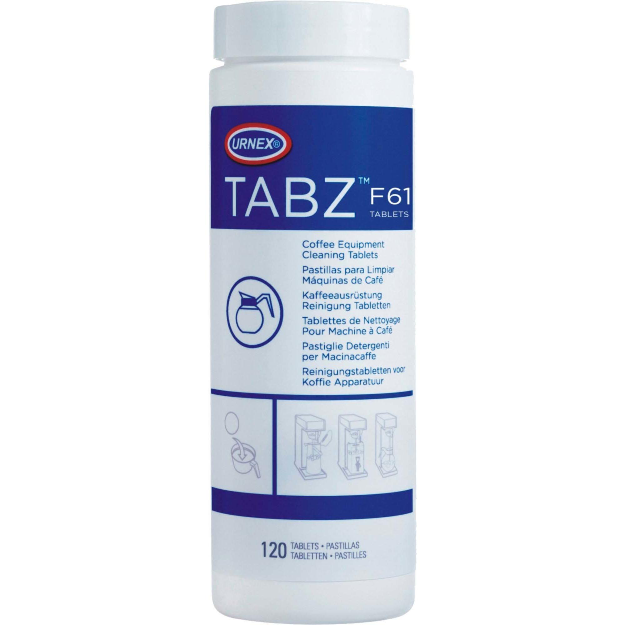 Urnex Tabz Filterkaffe Rengöringstabletter 4g 120 st