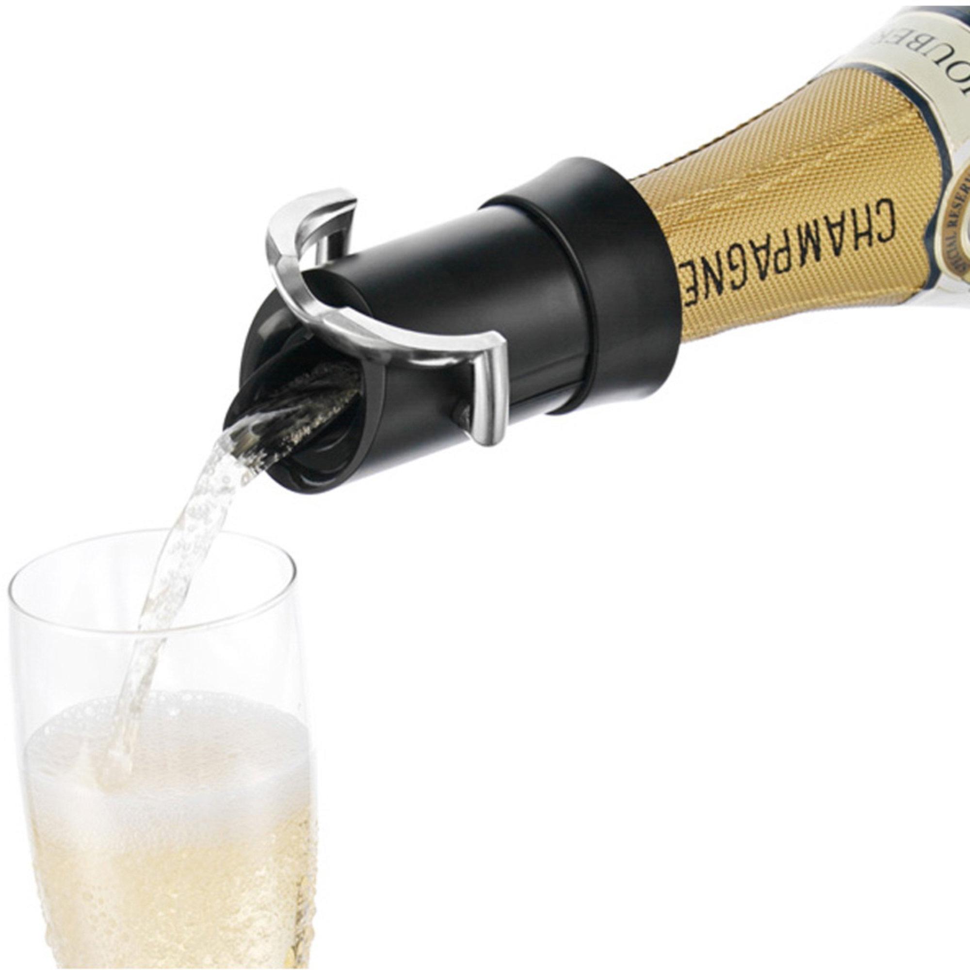 Vacu Vin Champagne Saver Svart