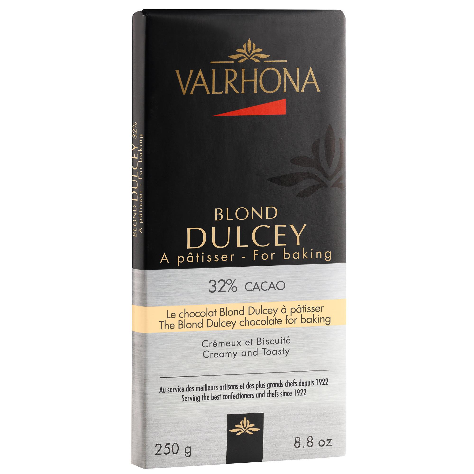 Valrhona Dulcey 32 % 250g plade