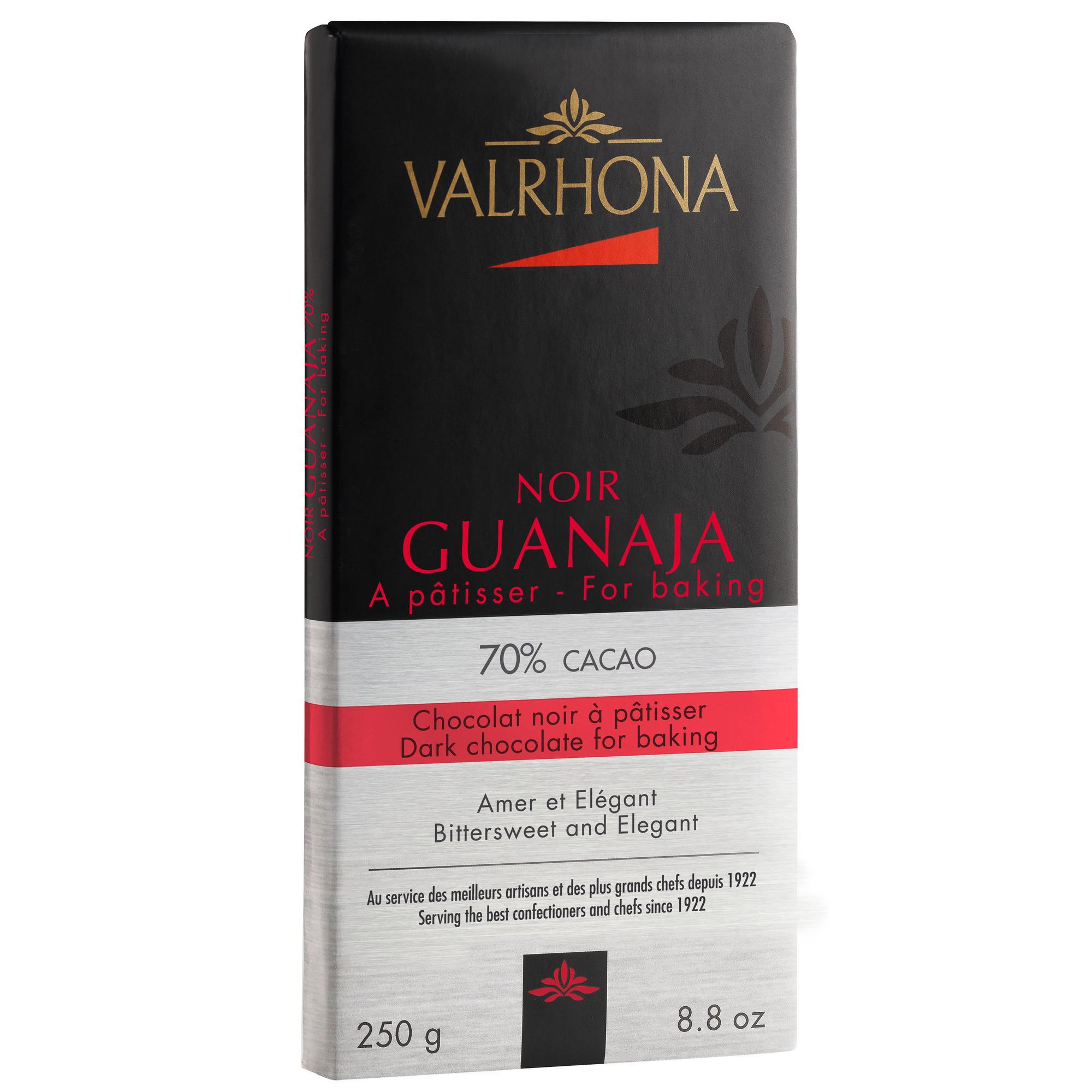 Valrhona Guanaja 70 % 250g plade