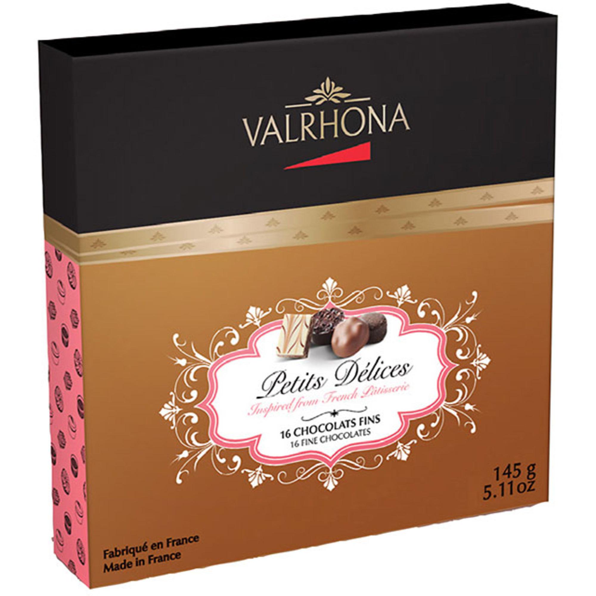 Valrhona Petits Delices fylld choklad