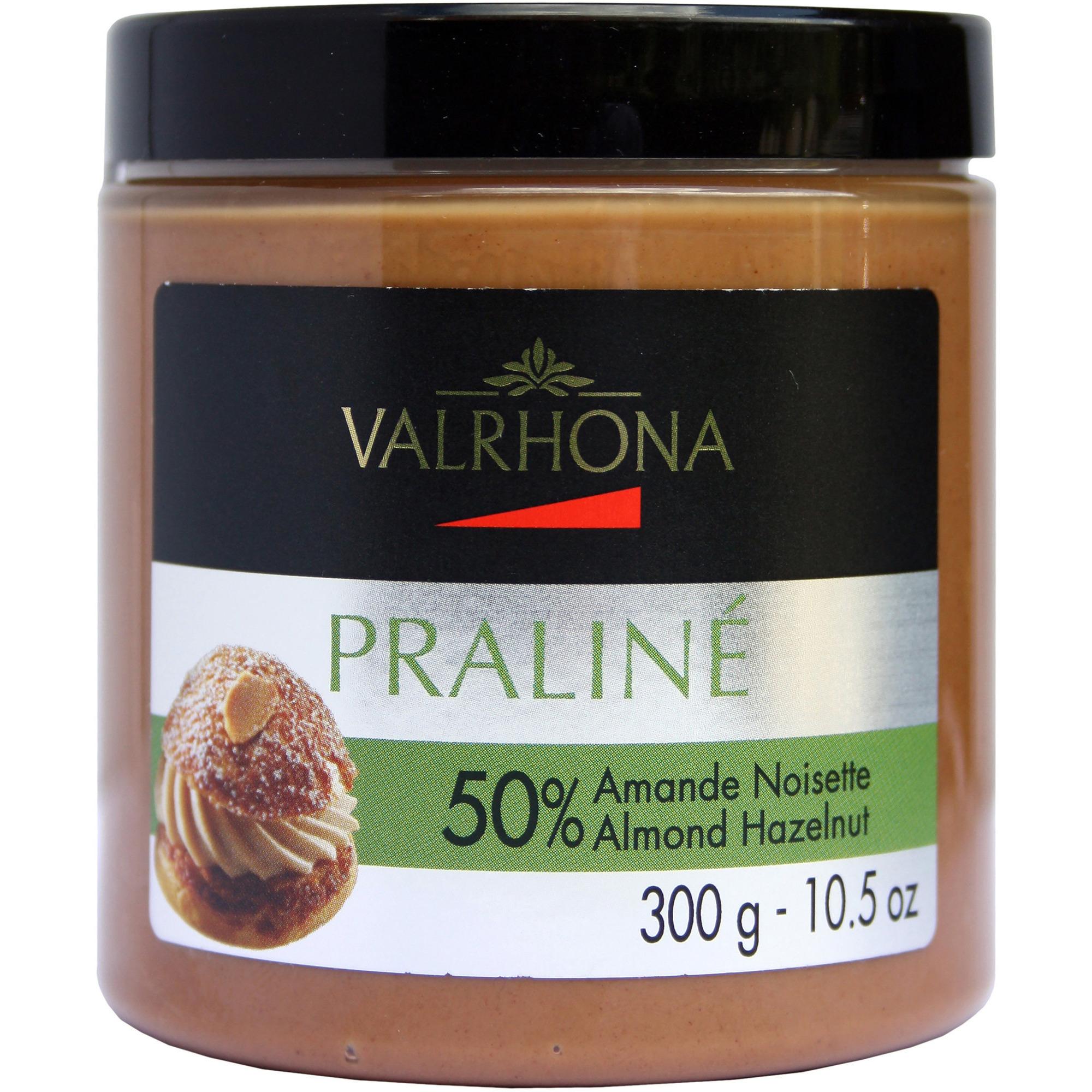 Valrhona Praliné Hasselnötspraliné 300g