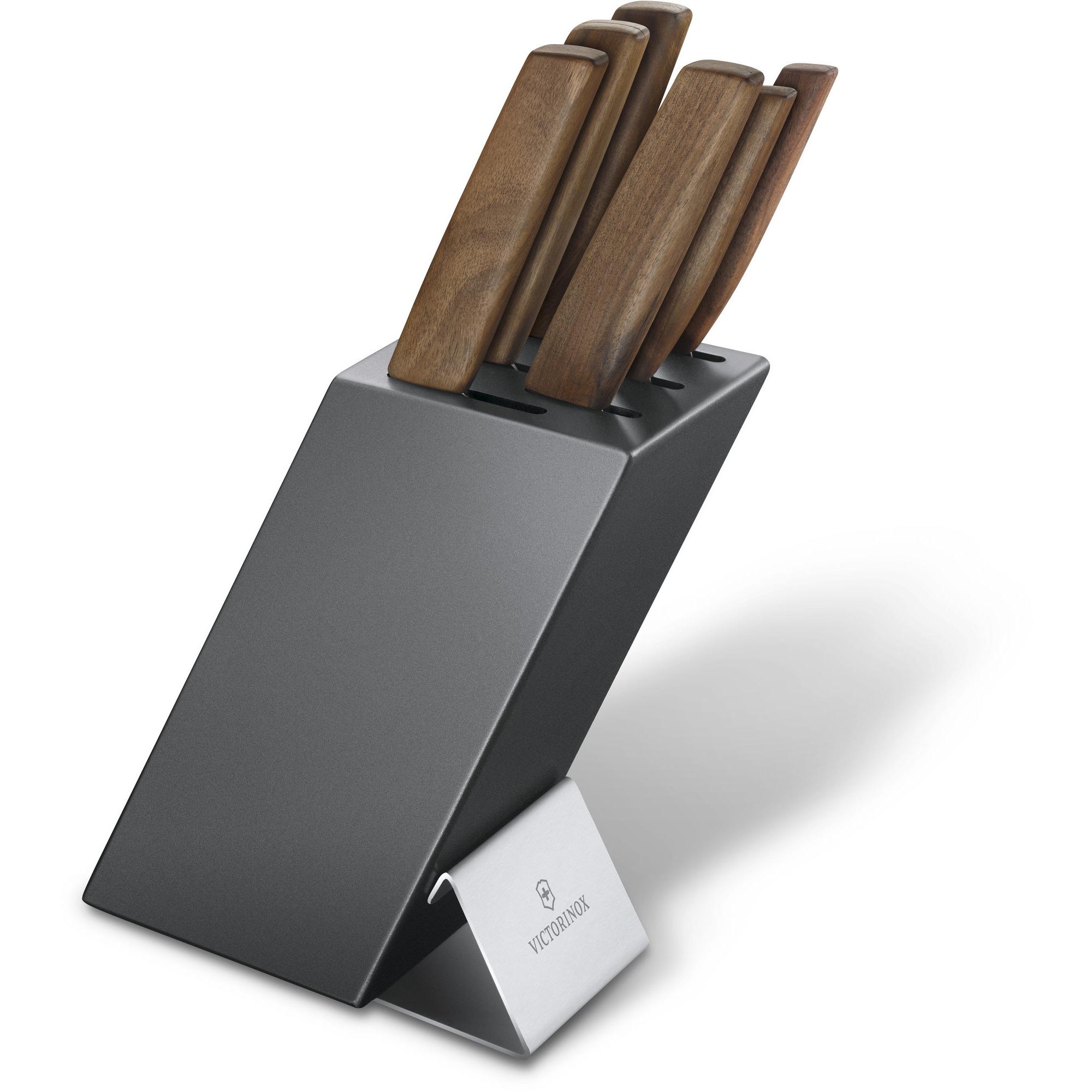 Victorinox Swiss Modern Knivblock 6 st