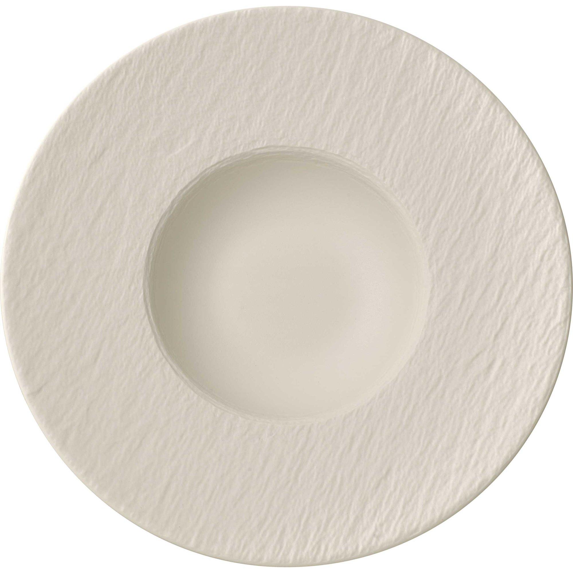 Villeroy & Boch Manufacture Rock Blanc Pastatallrik