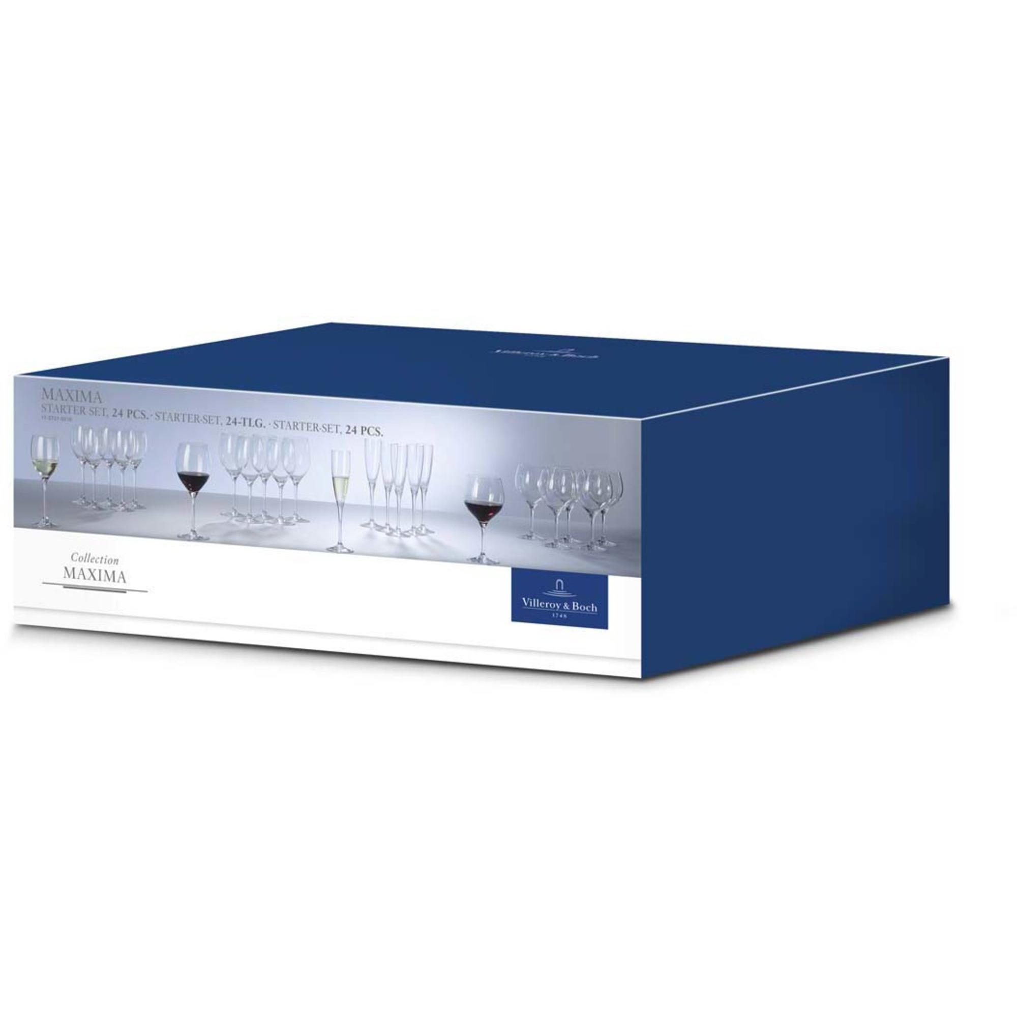 Villeroy & Boch Maxima Glas Startset 24-pack