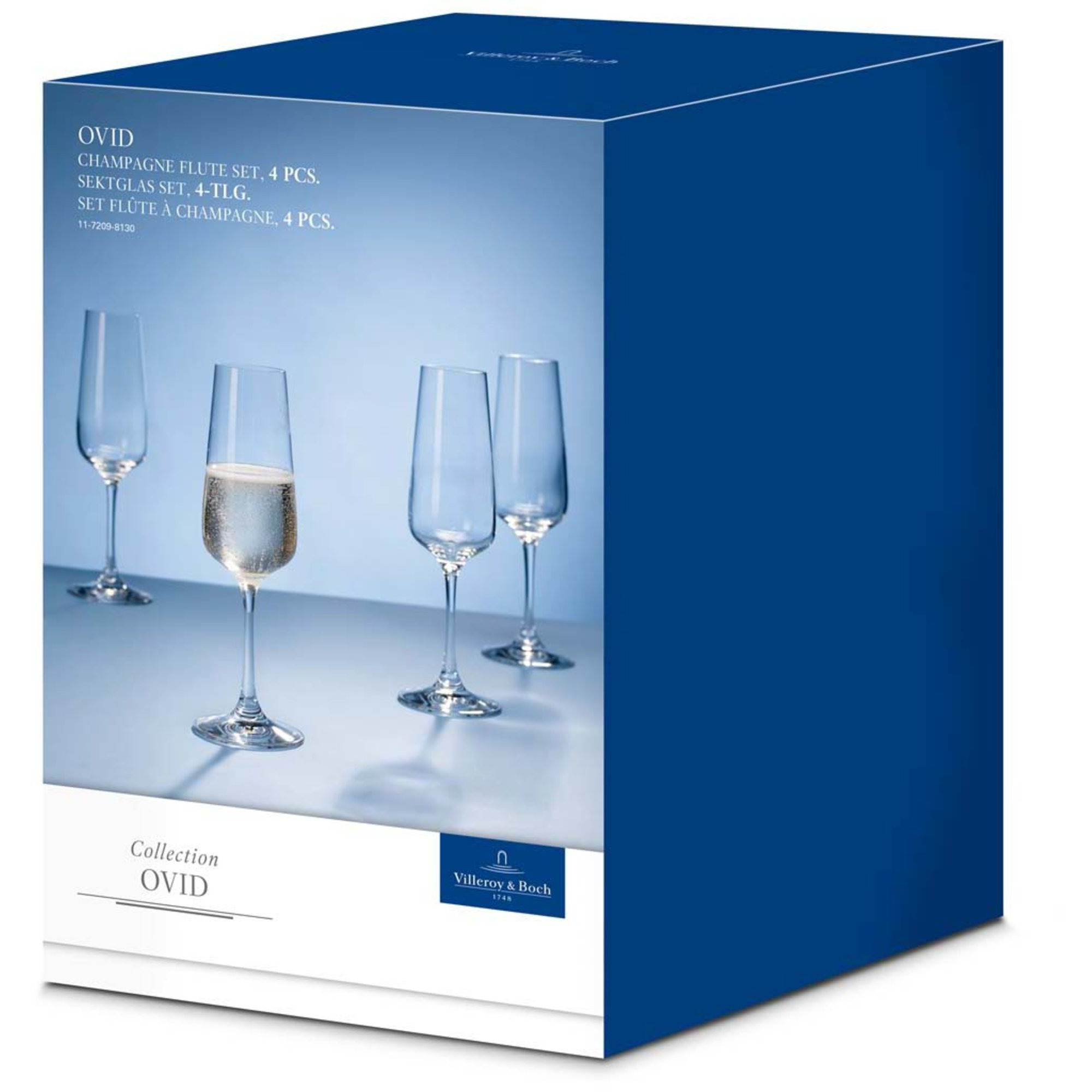 Villeroy & Boch Ovid Champagneglas 4-pack