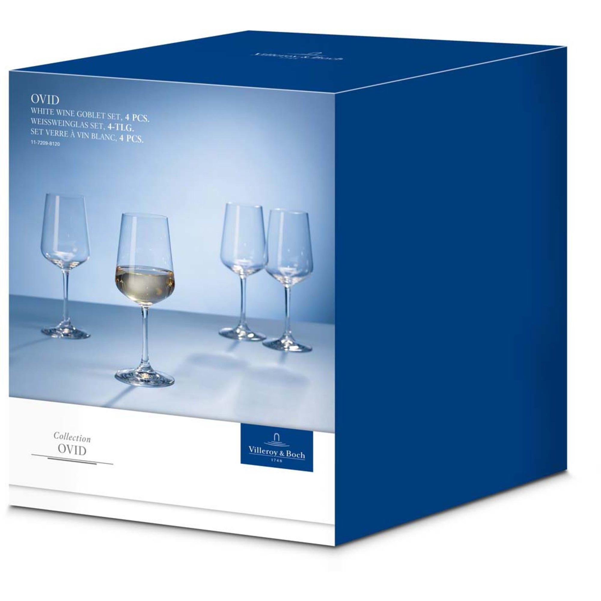 Villeroy & Boch Ovid Vitvinsglas 4-pack