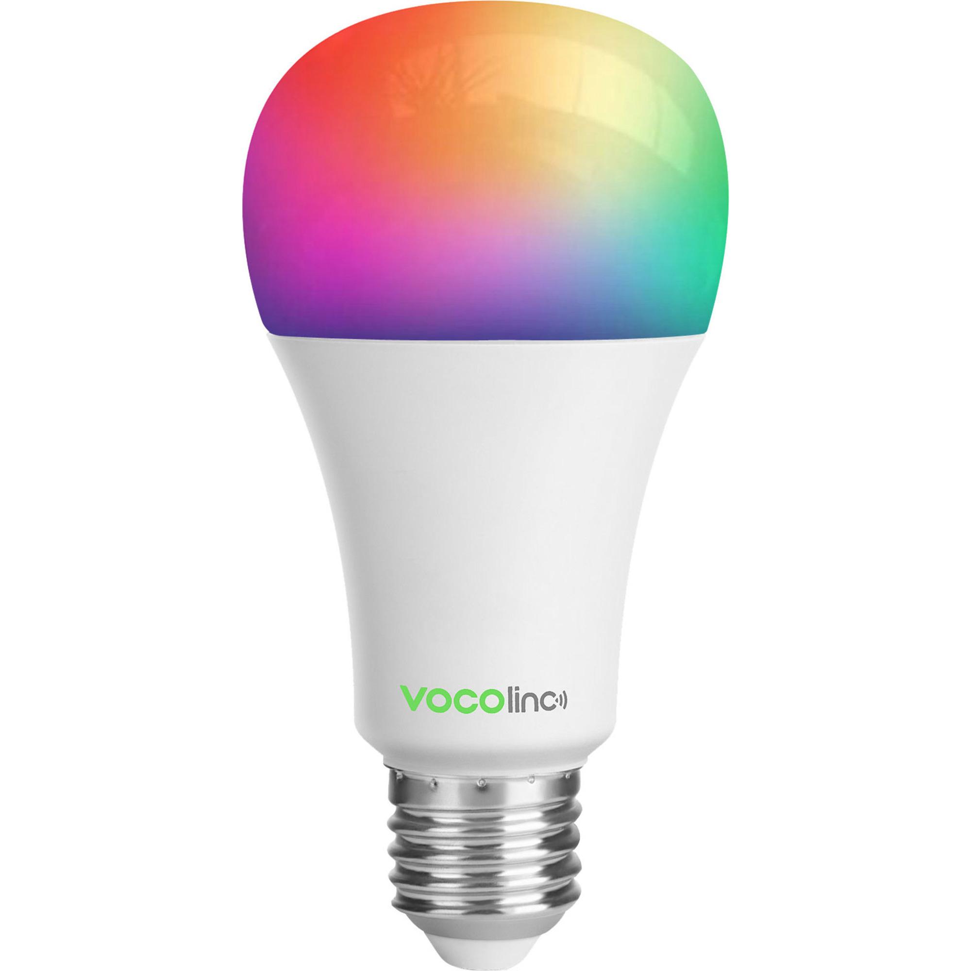 VOCOlinc Smart WiFi Glödlampa (E27) 65W Färg