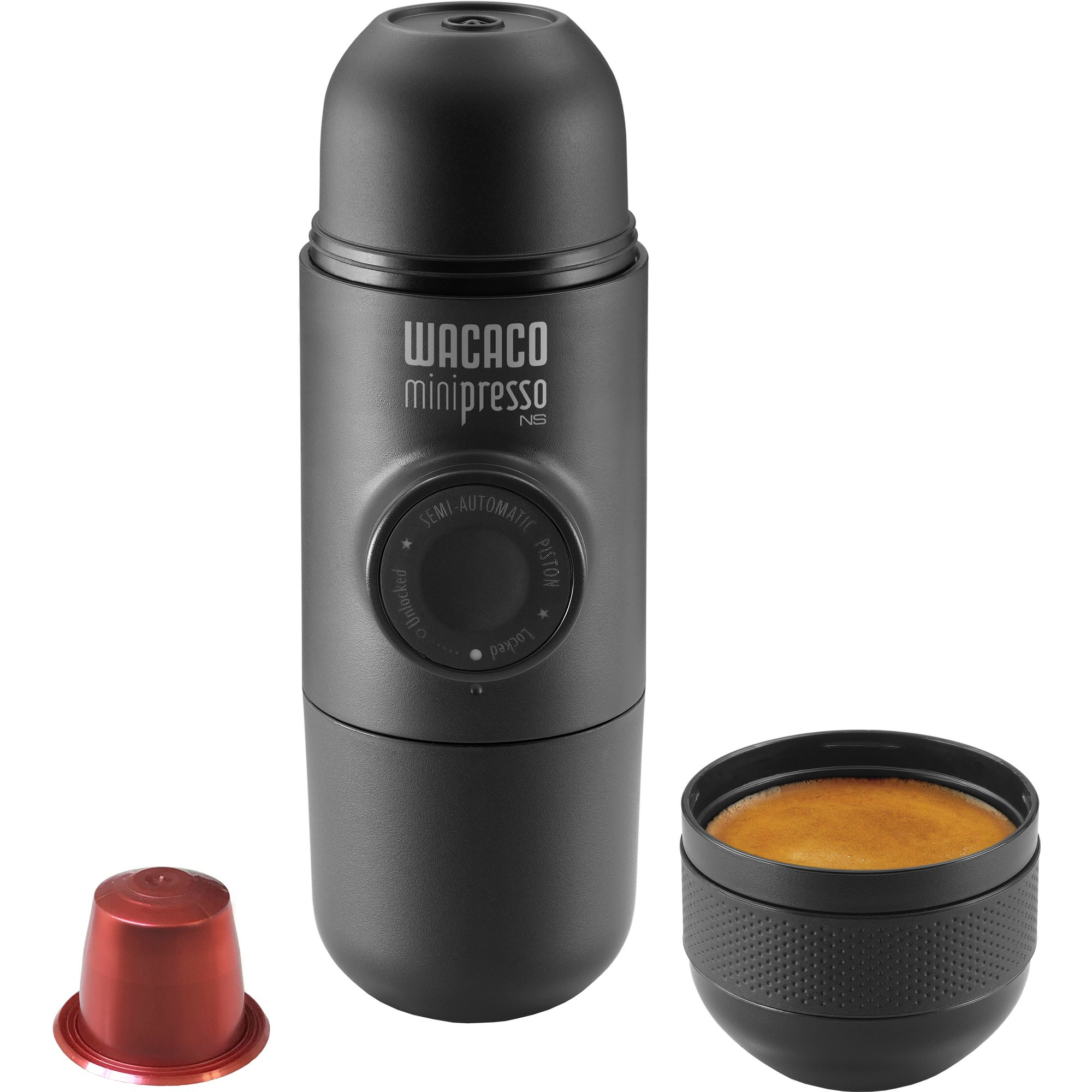 Wacaco Minipresso NS espressobryggare grå
