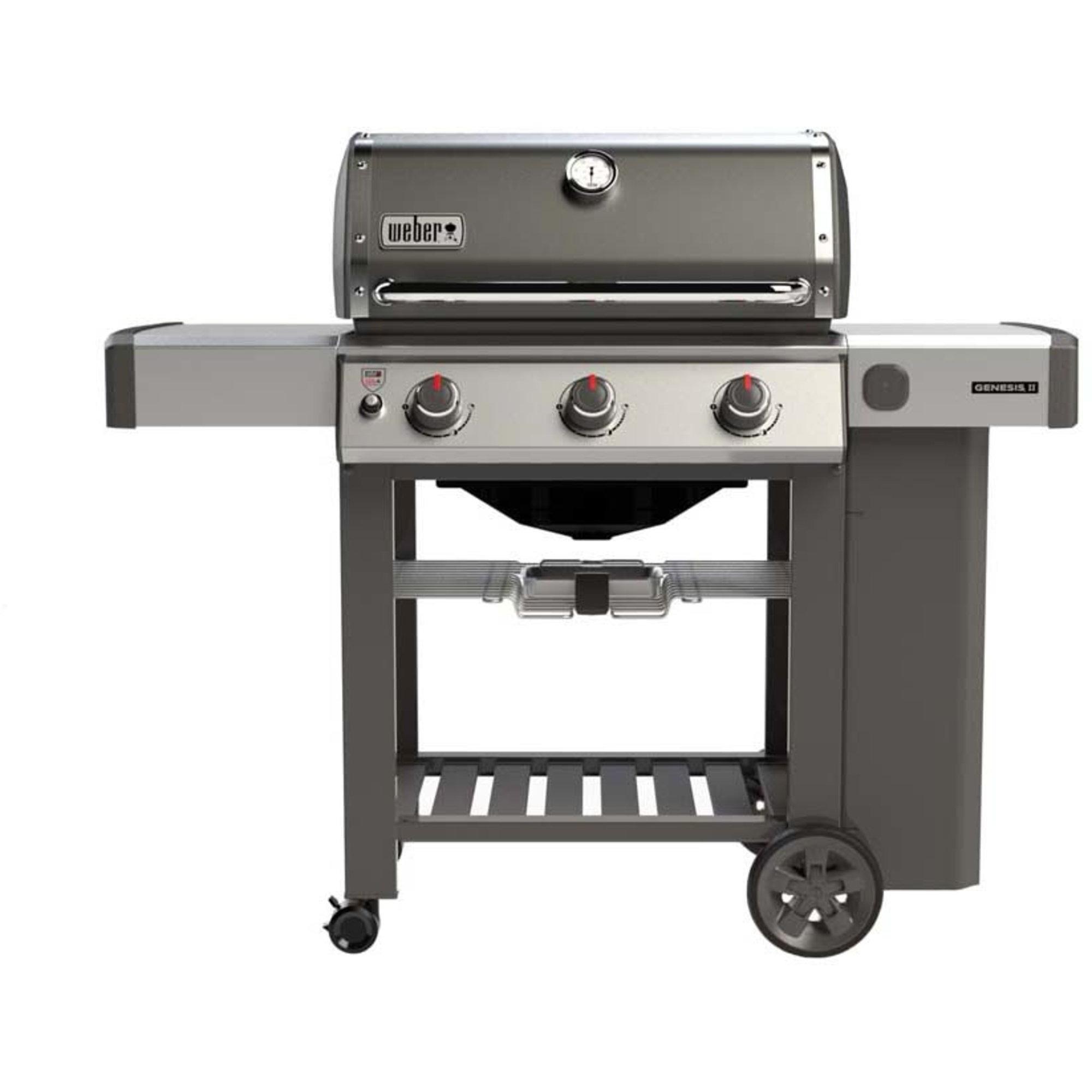 Weber Genesis® II E-310 GBS Gasolgrill – Smoke Grey