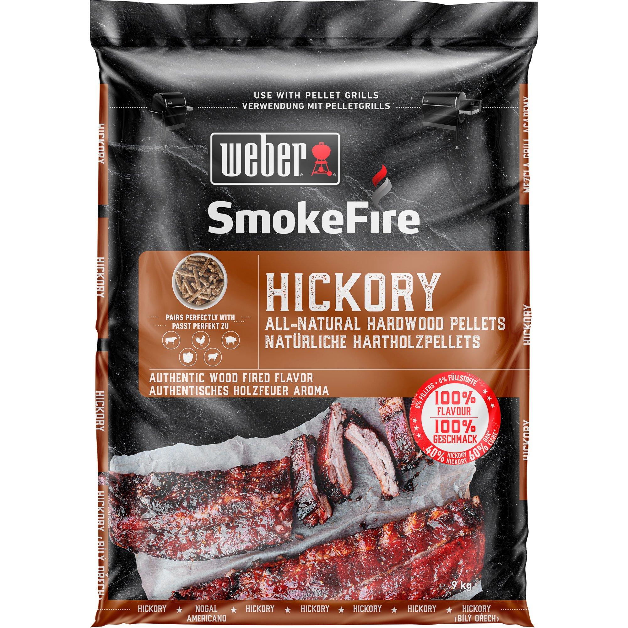Weber Träpellets Hickory 9 kg