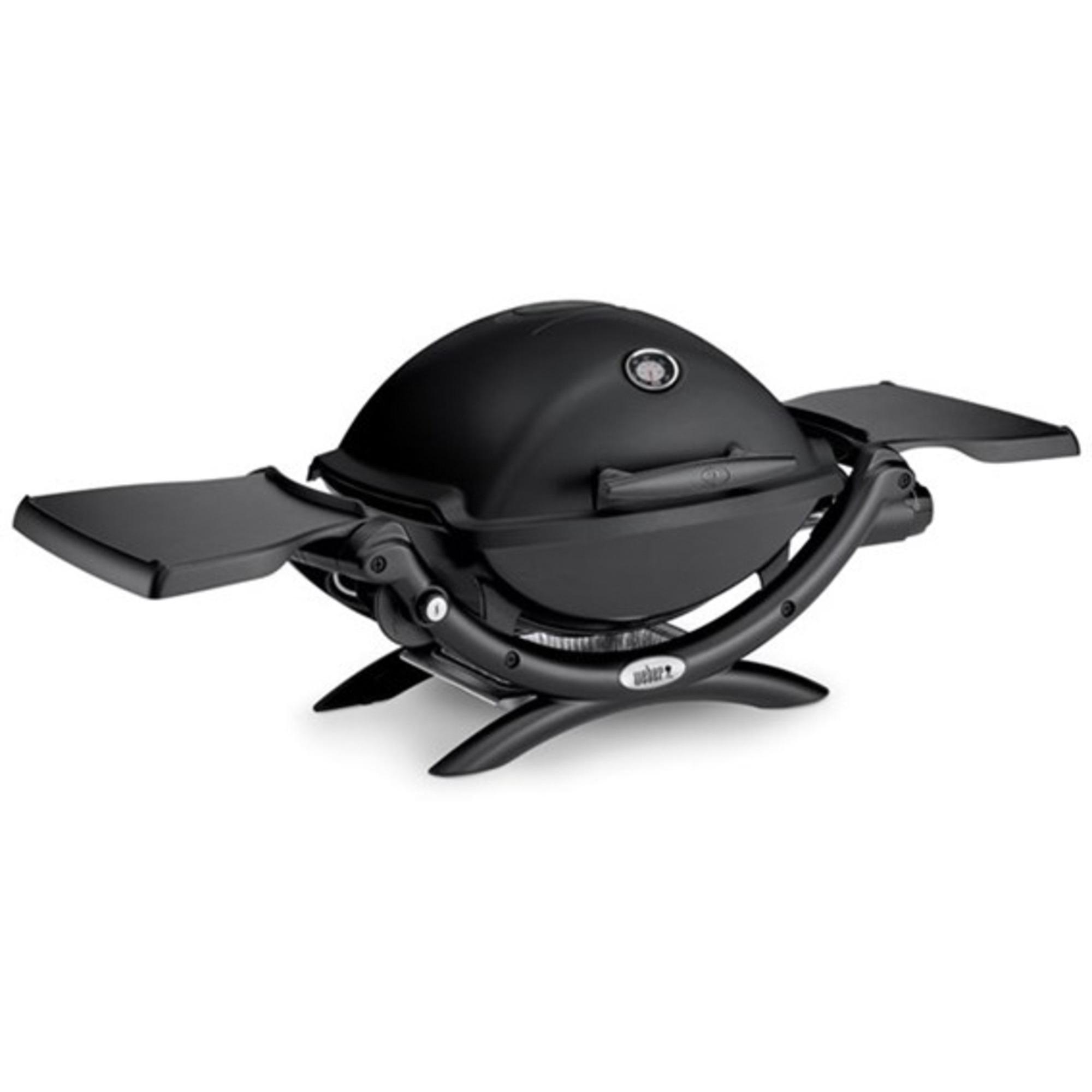 Weber Q1200 Gasolgrill svart