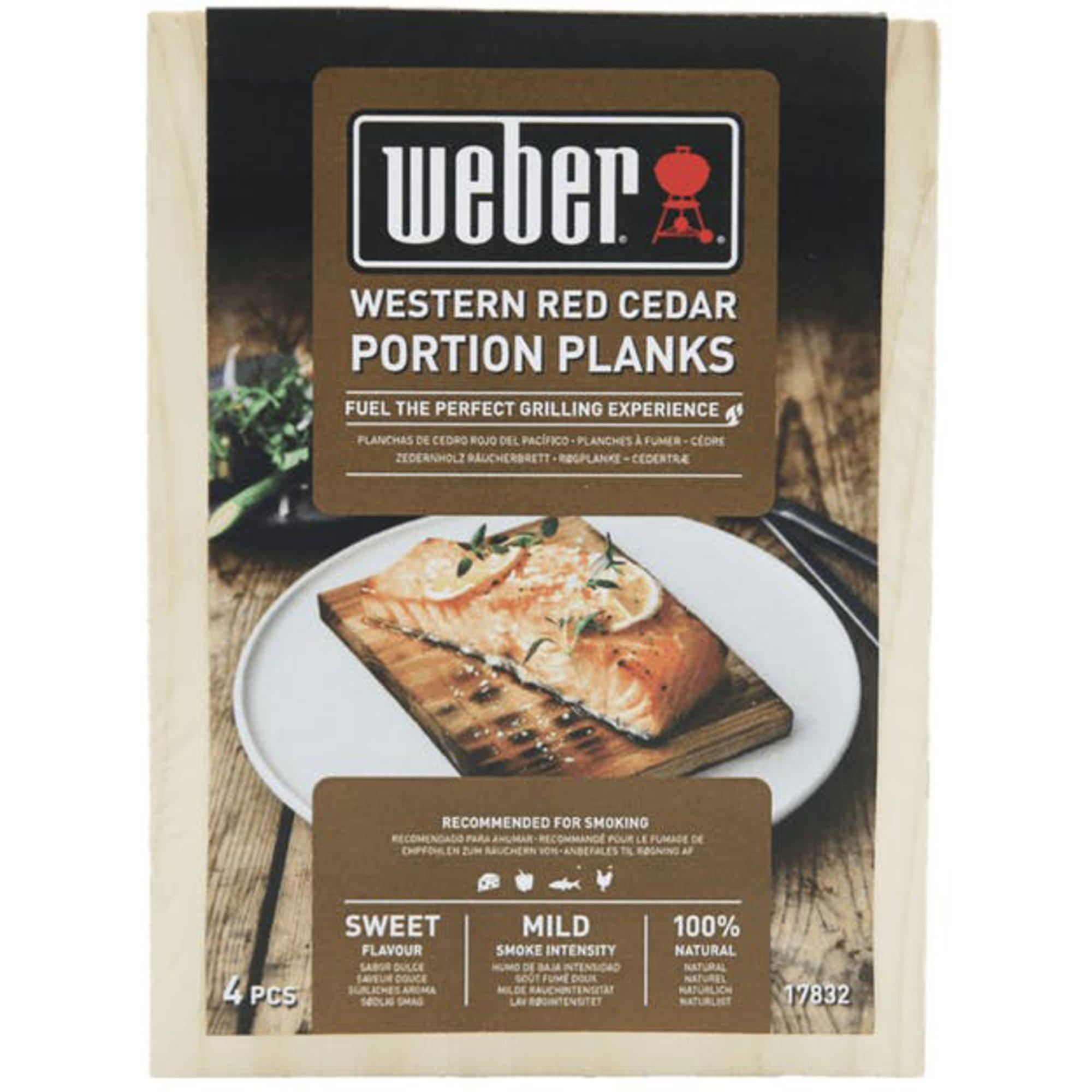 Weber Rökplanka Cederträ 4-pack