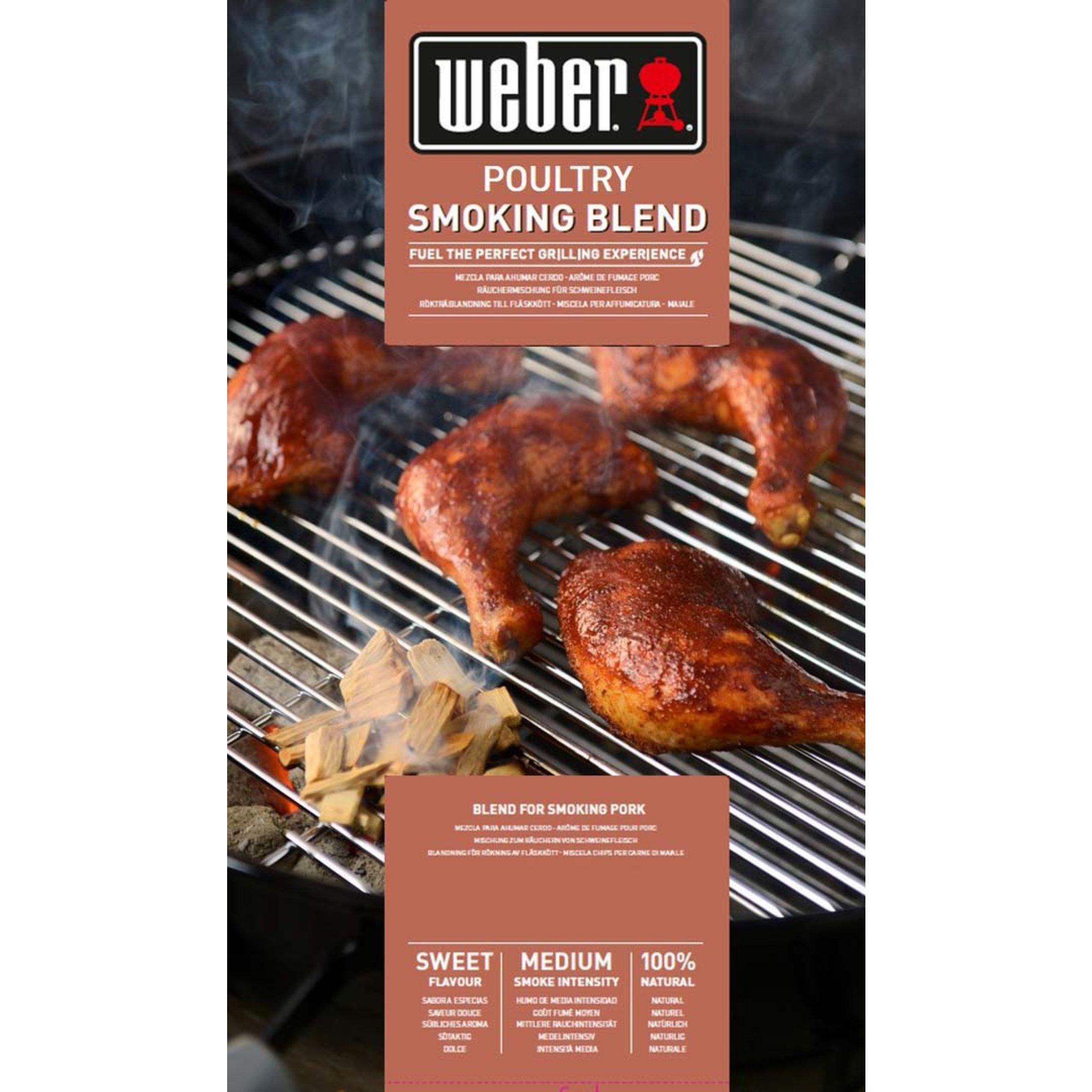 Weber Smoking wood chips Blend – Fågel 0.7 kg