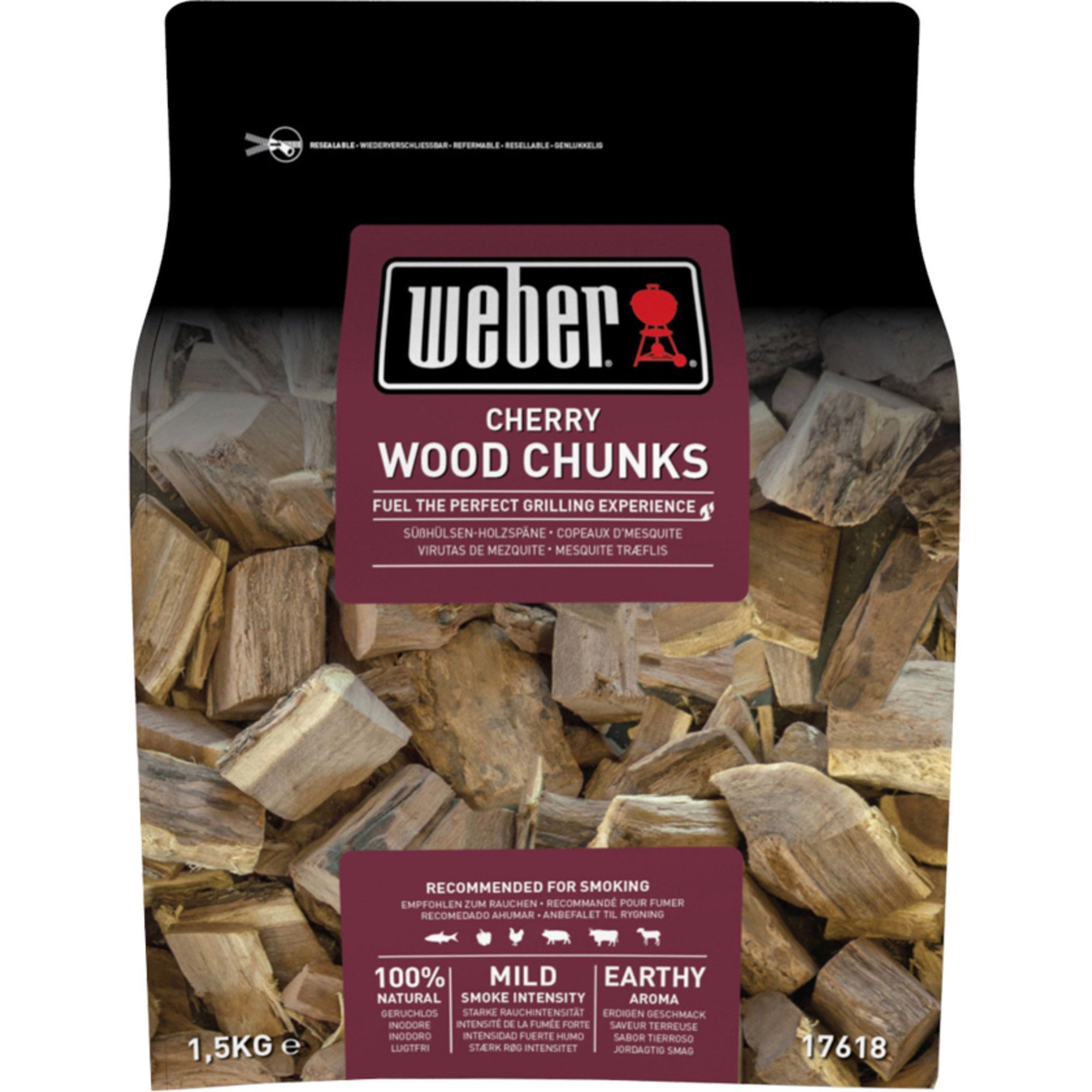 Weber Smoking wood chunks – körsbär