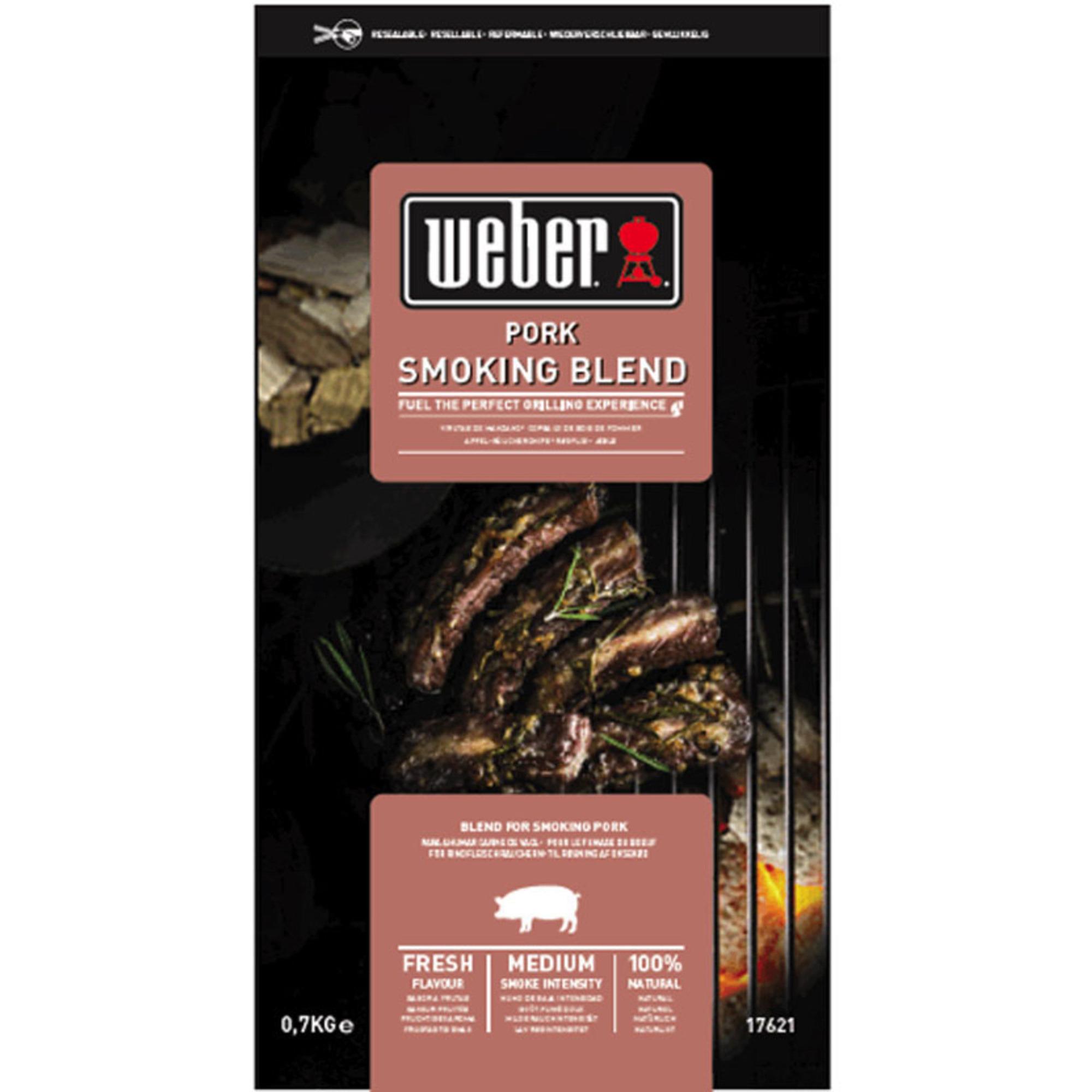 Weber Smoking Wood Chips Pork Fläskkött